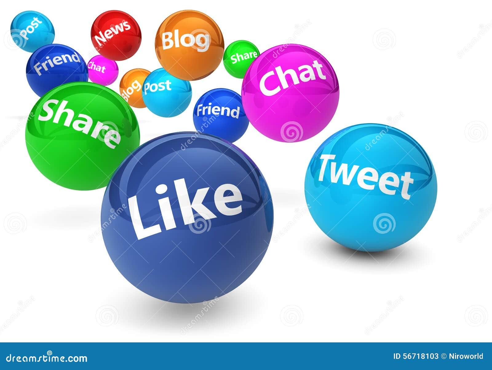 Conceito social dos meios da rede e da Web