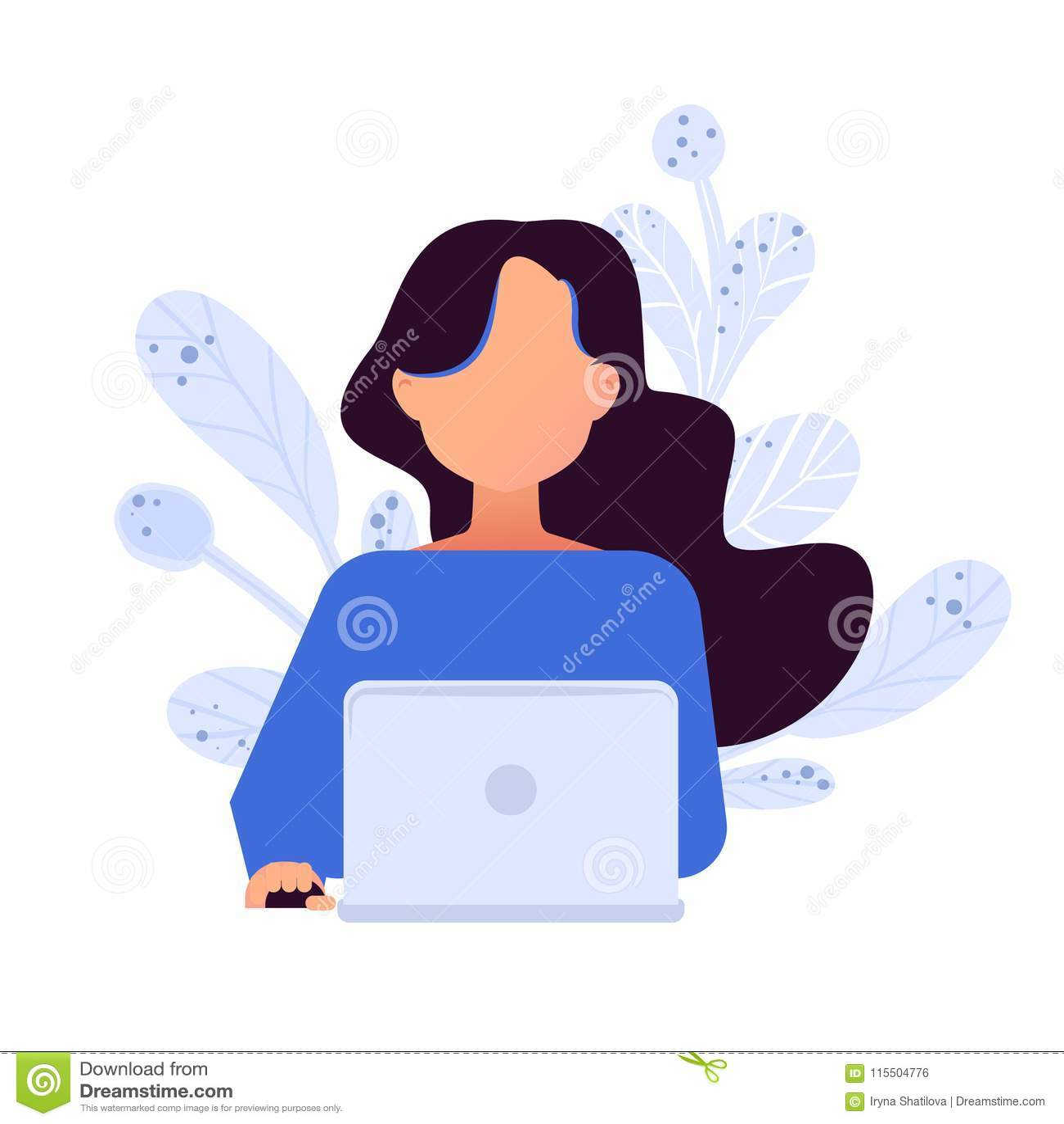 Conceito social dos trabalhos em rede Avatars com dispositivo