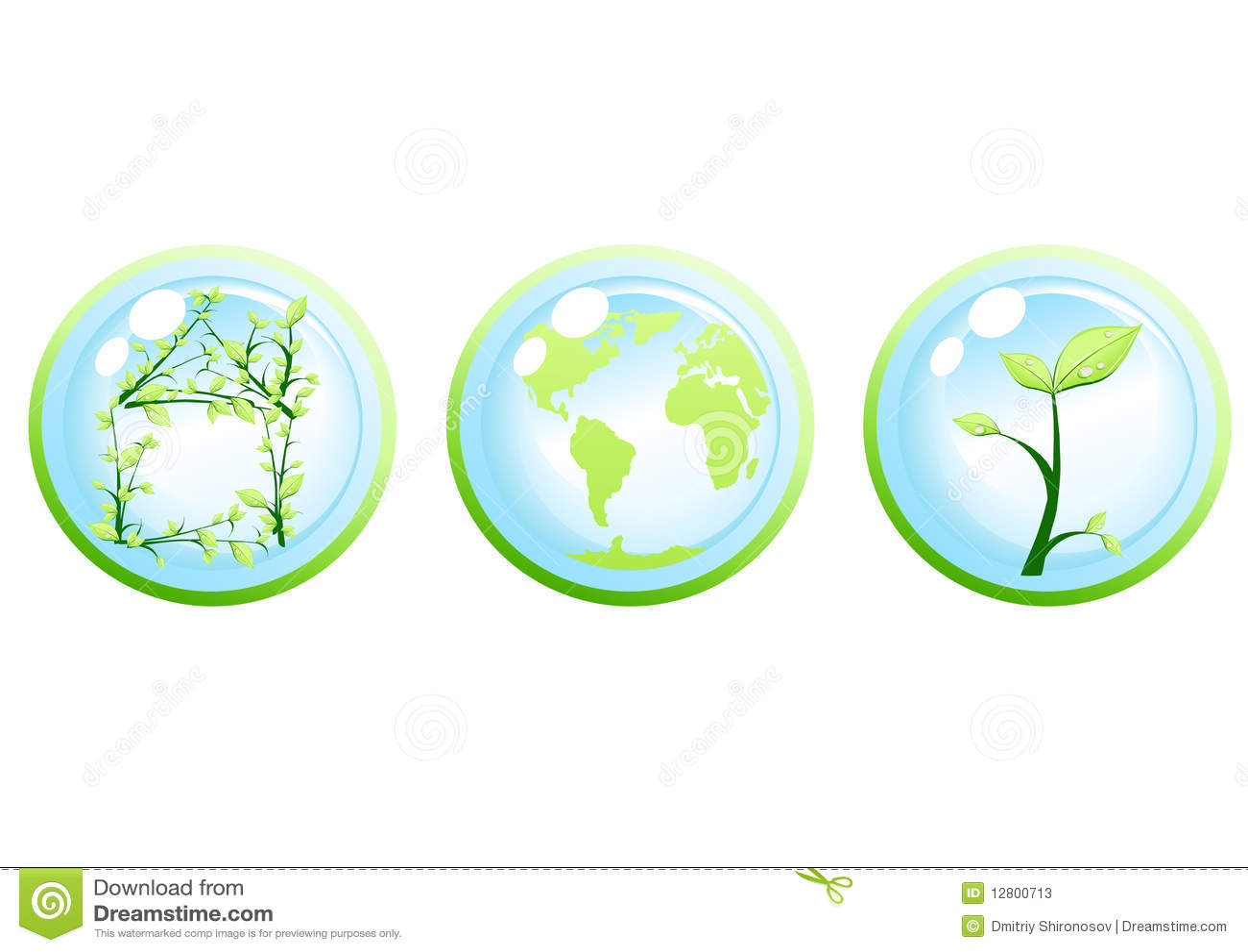 Conceito verde da ecologia