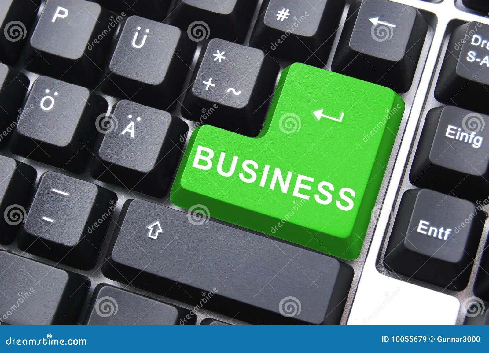 Conceito verde do negócio