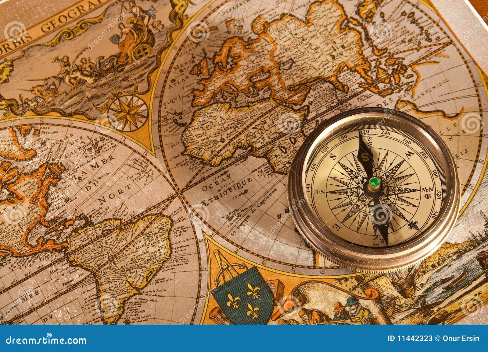 Conceitos velhos do mapa e do compasso