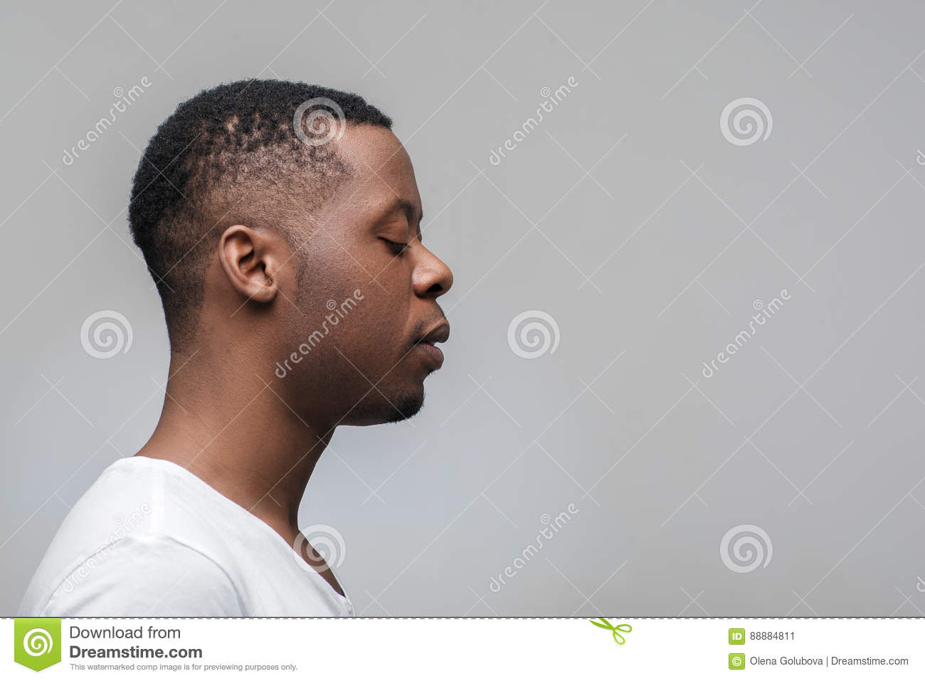 black man profile picture
