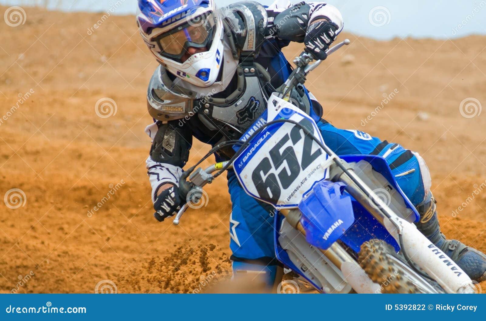 Concentration de motocross