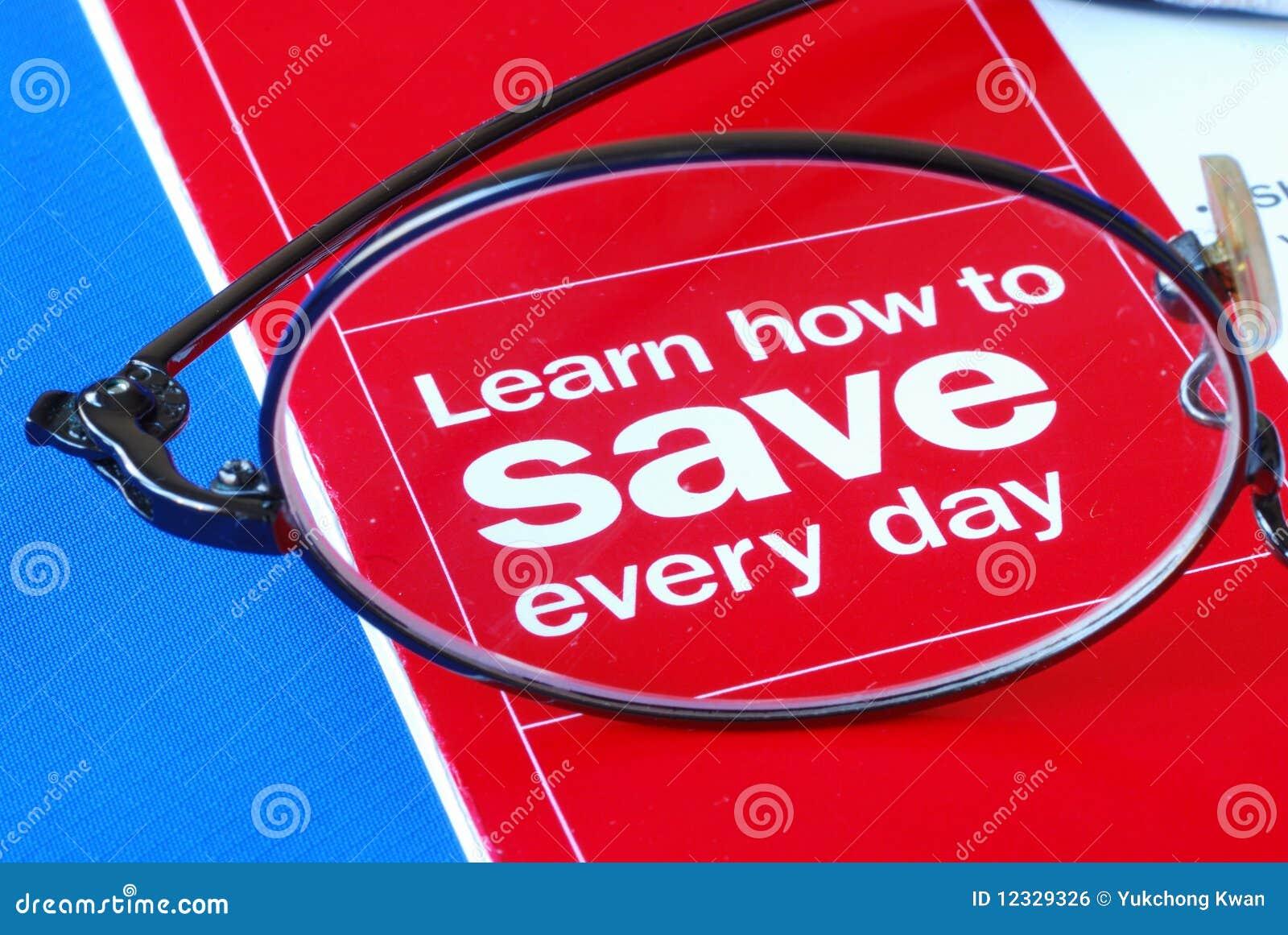 Concentrez sur apprendre comment épargner l argent journalier