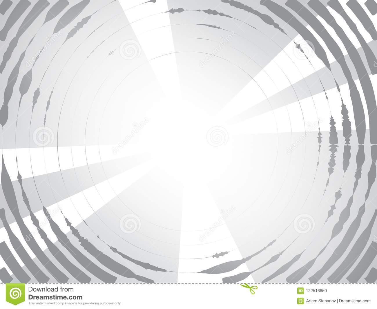 Concentric circles halftone background