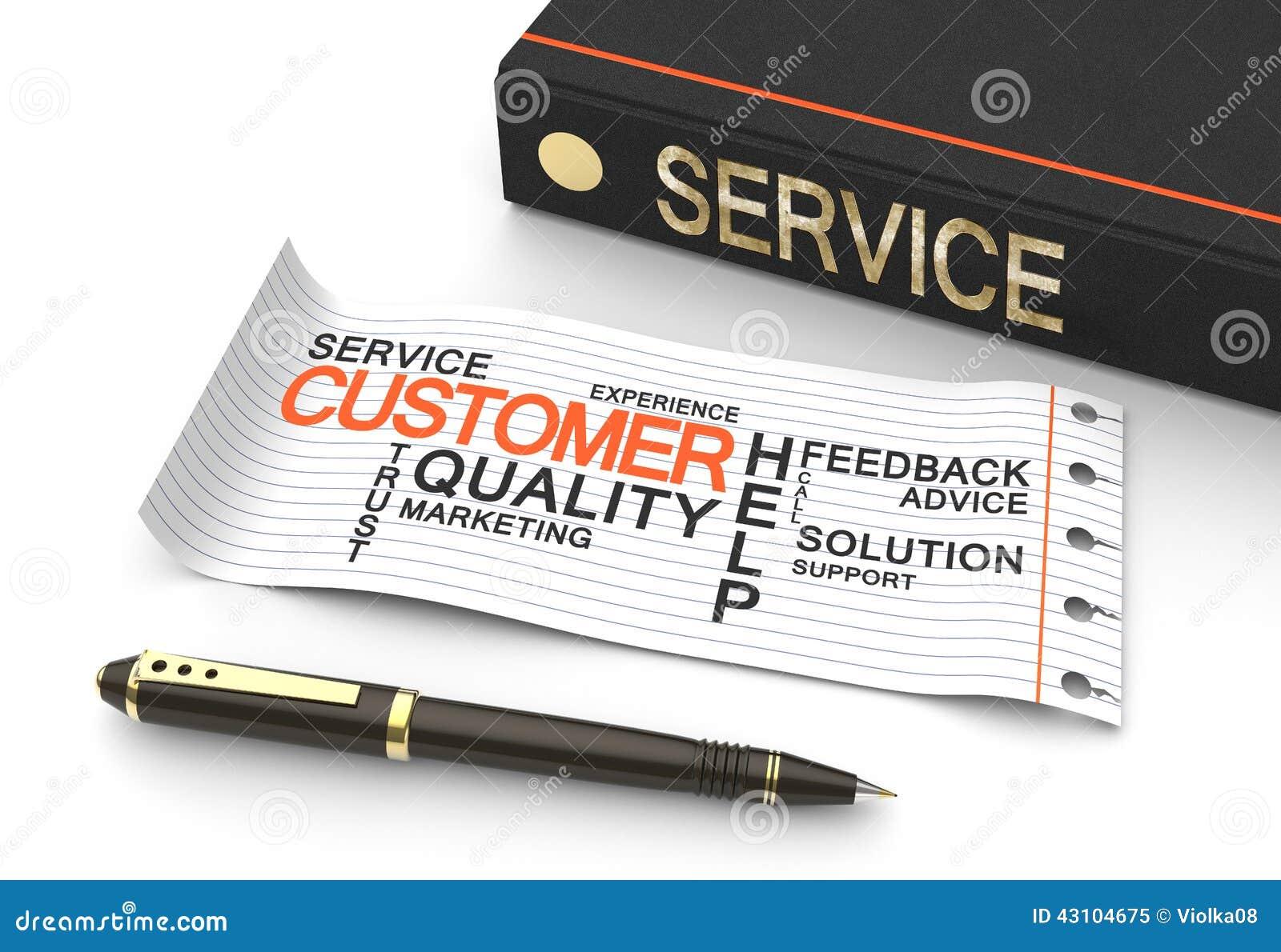 Concep di servizio di assistenza al cliente