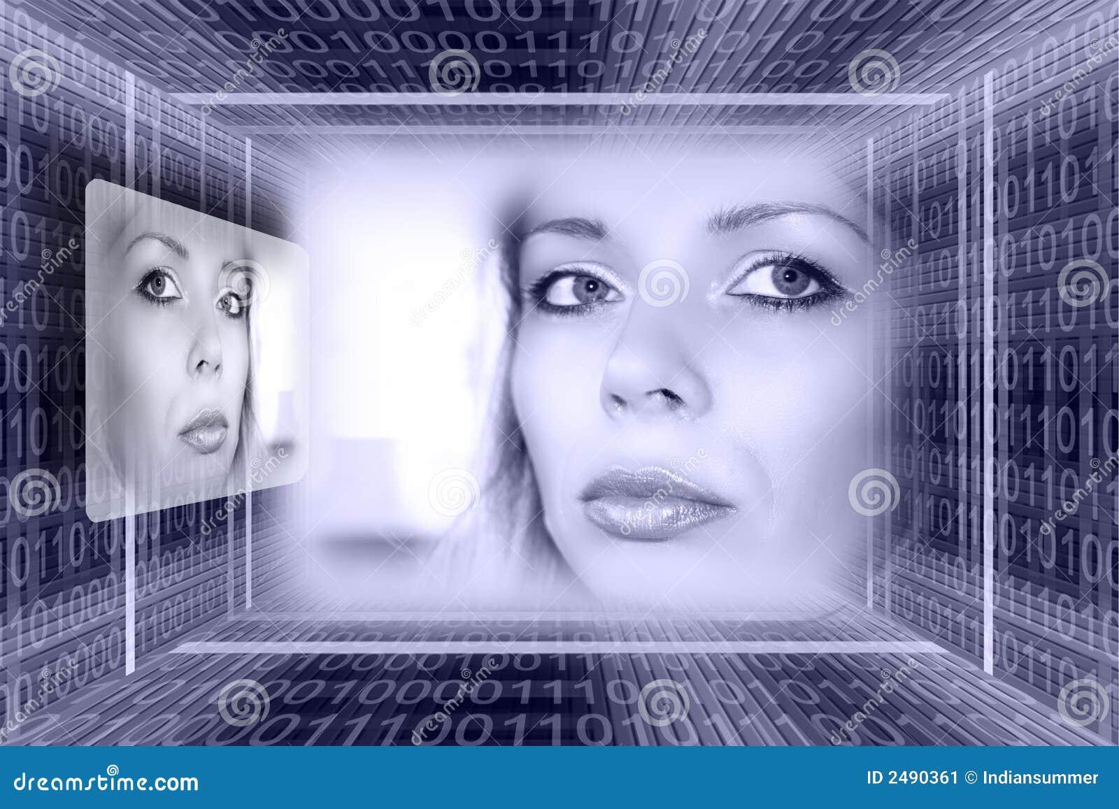 Concep futurystyczne technologii