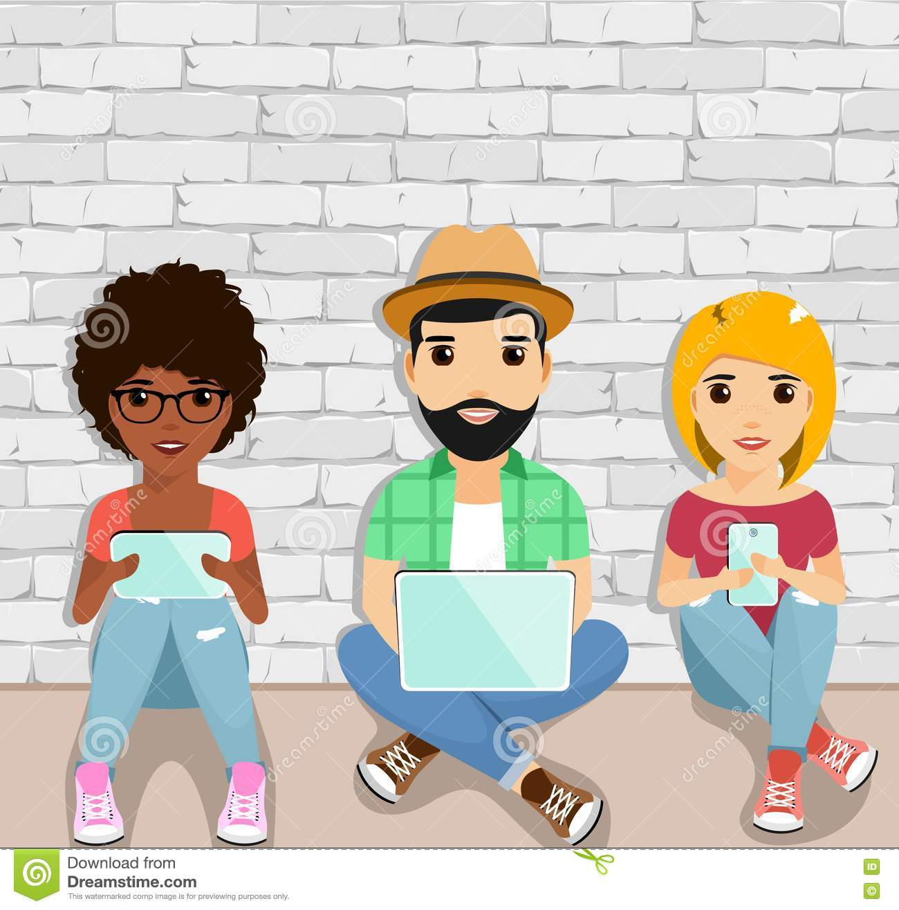 Modern gadgets and youth
