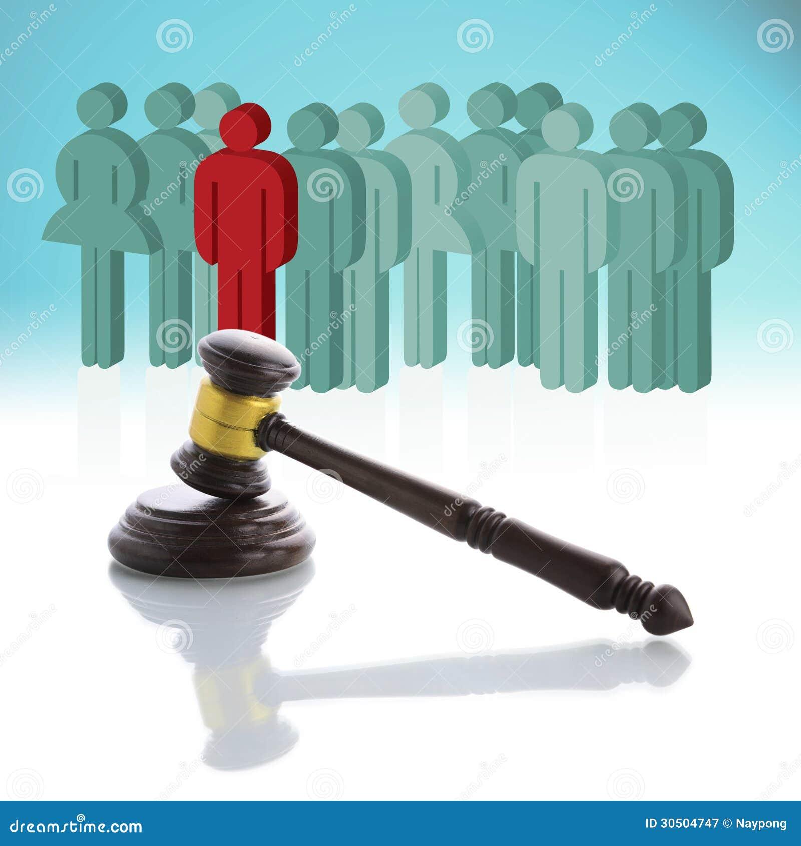 Concept au sujet des personnes et de la loi