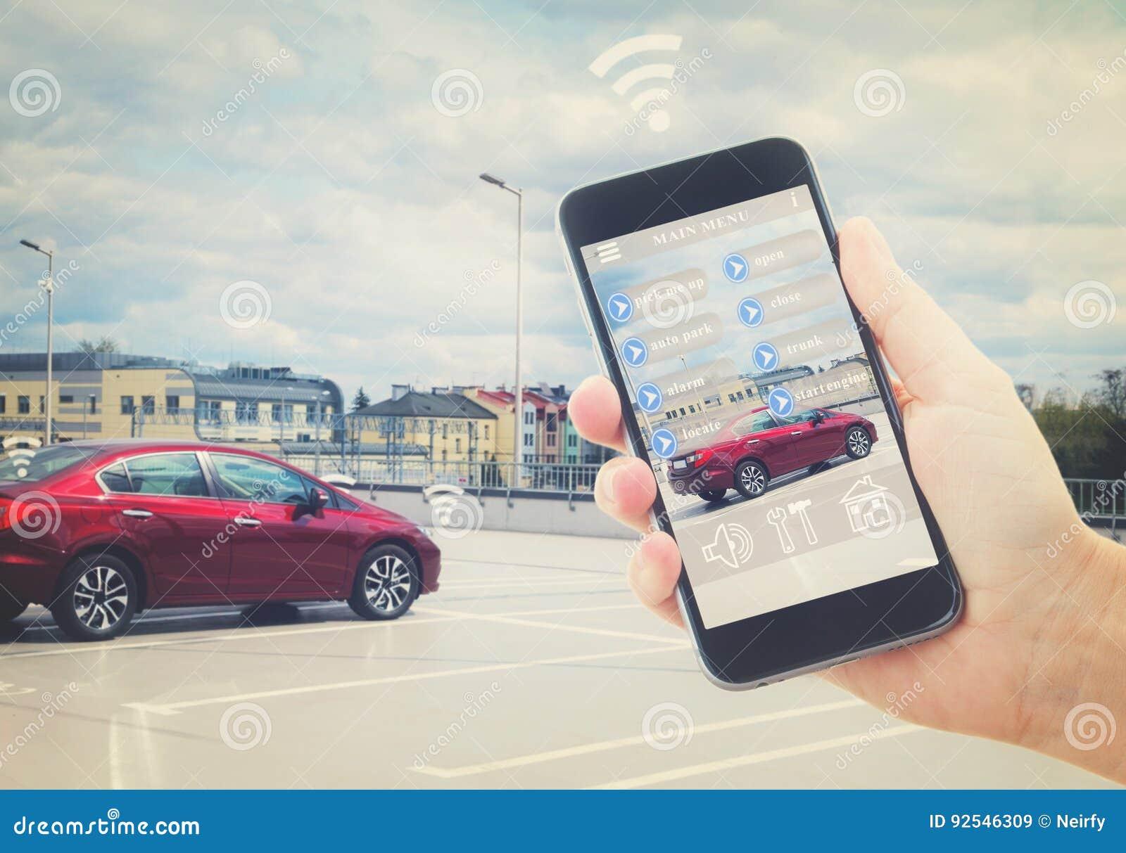 Concept automatique de stationnement