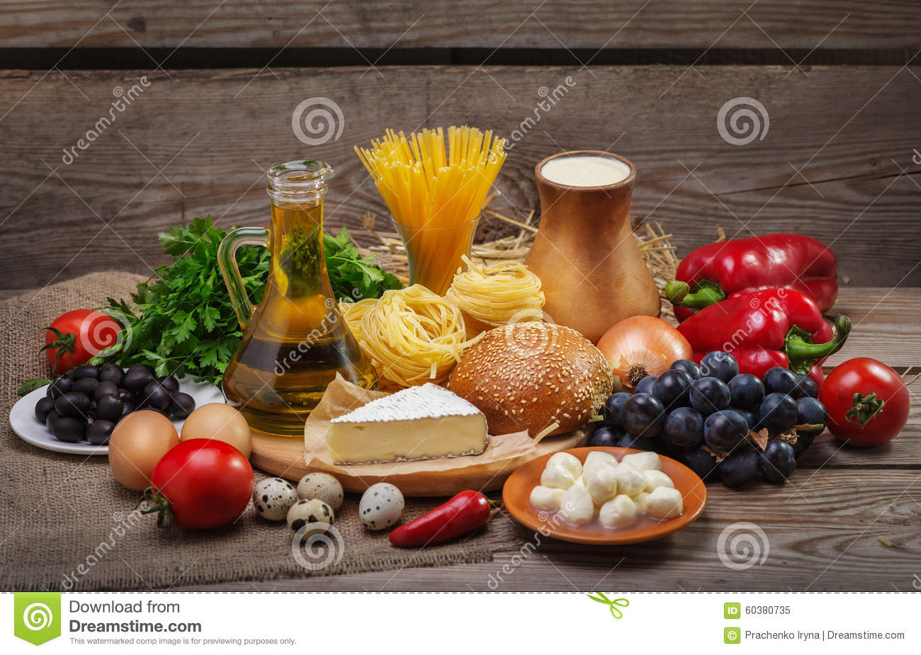 Concept of a balanced diet stock image. Image of ...