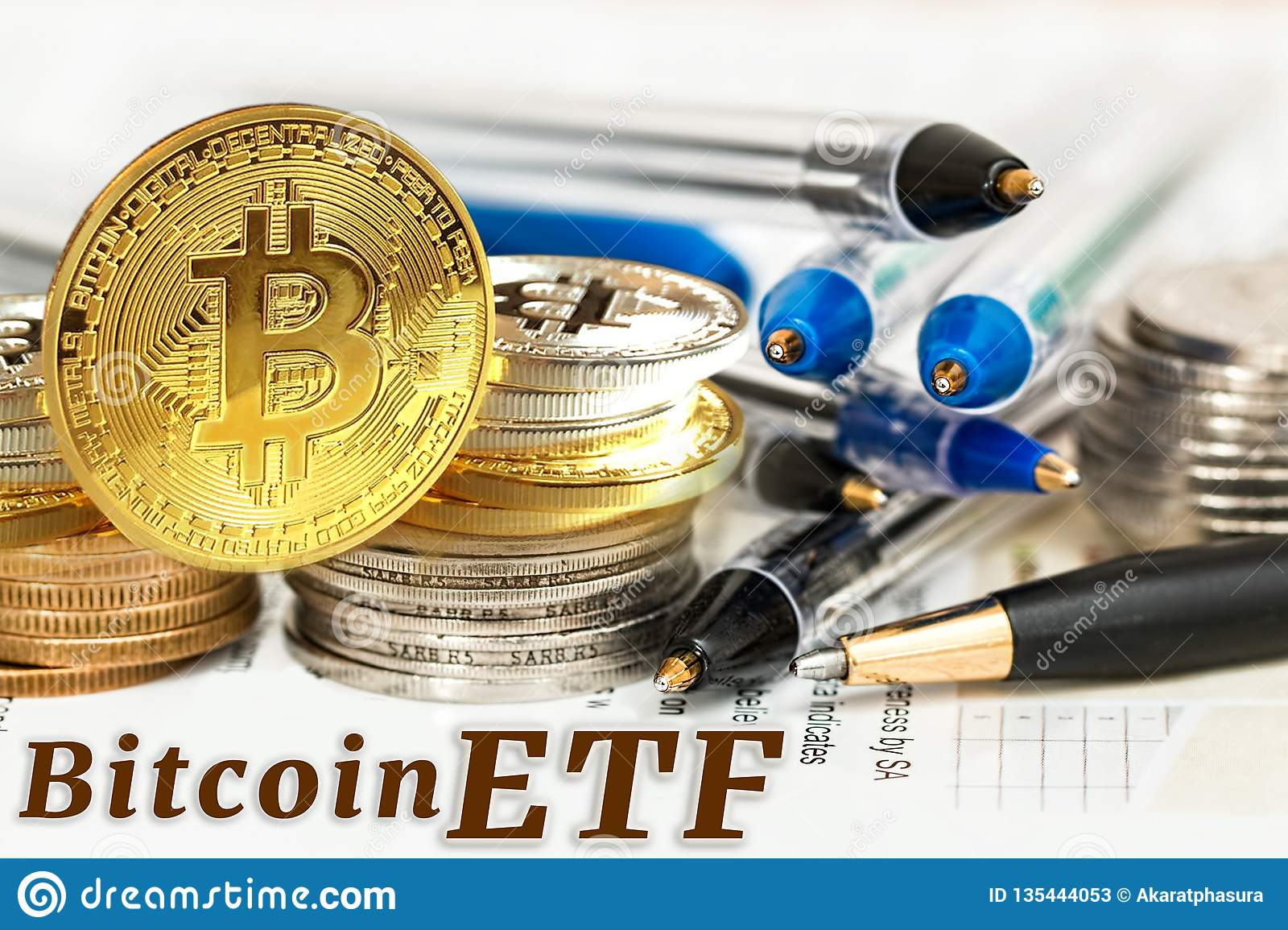 what is an etf bitcoin