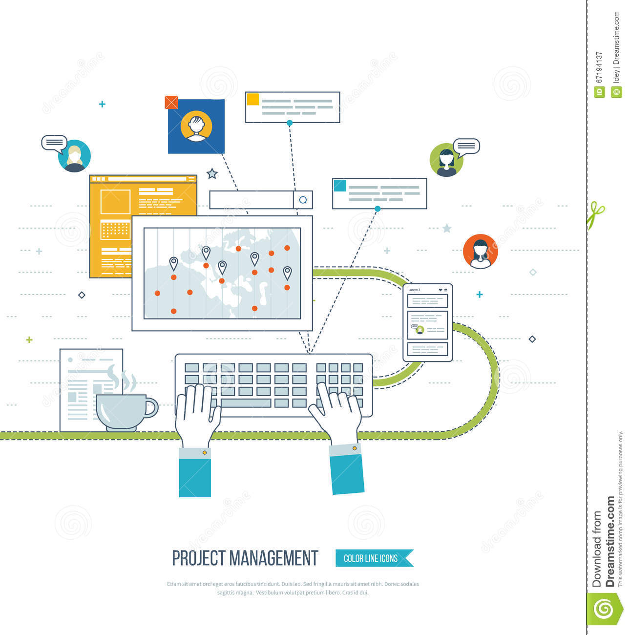 Concept For Business Analysis, Consulting, Strategy Planning