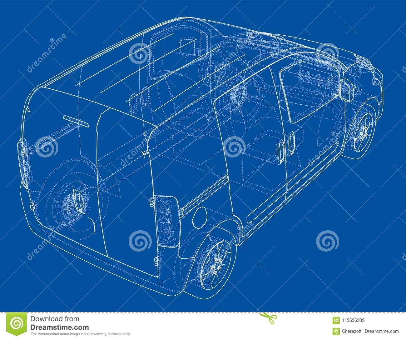 Concept car blueprint stock illustration illustration of outline download concept car blueprint stock illustration illustration of outline 113636302 malvernweather Gallery