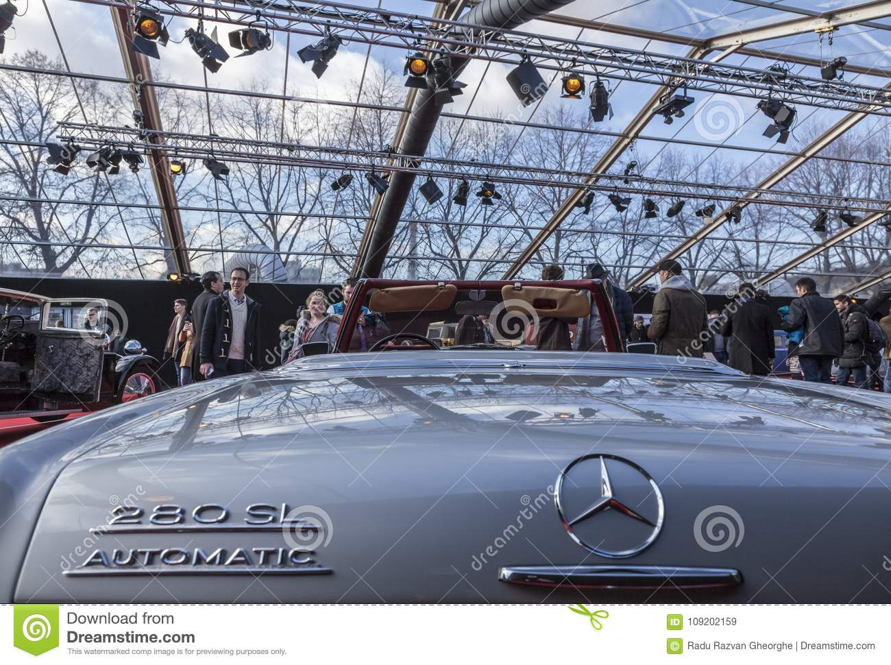 the concept cars exhibition and automobile design - paris 2018