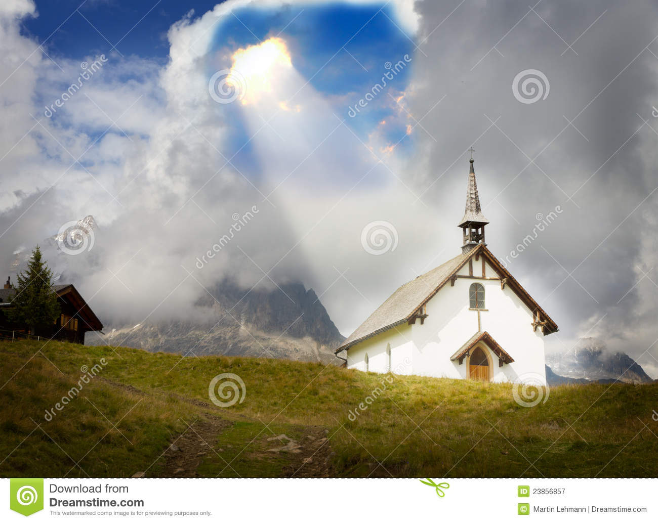 Concept For Christianity God Belief Relief Stock Image