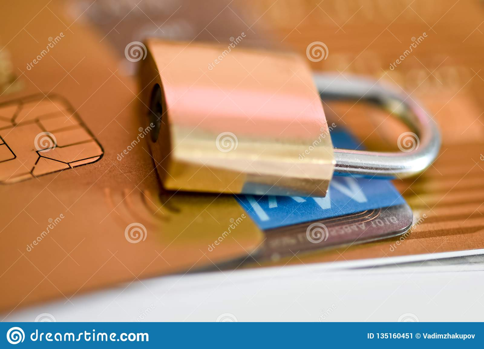 Concept Credit Card Data Security  Security Of Bank Card Payments