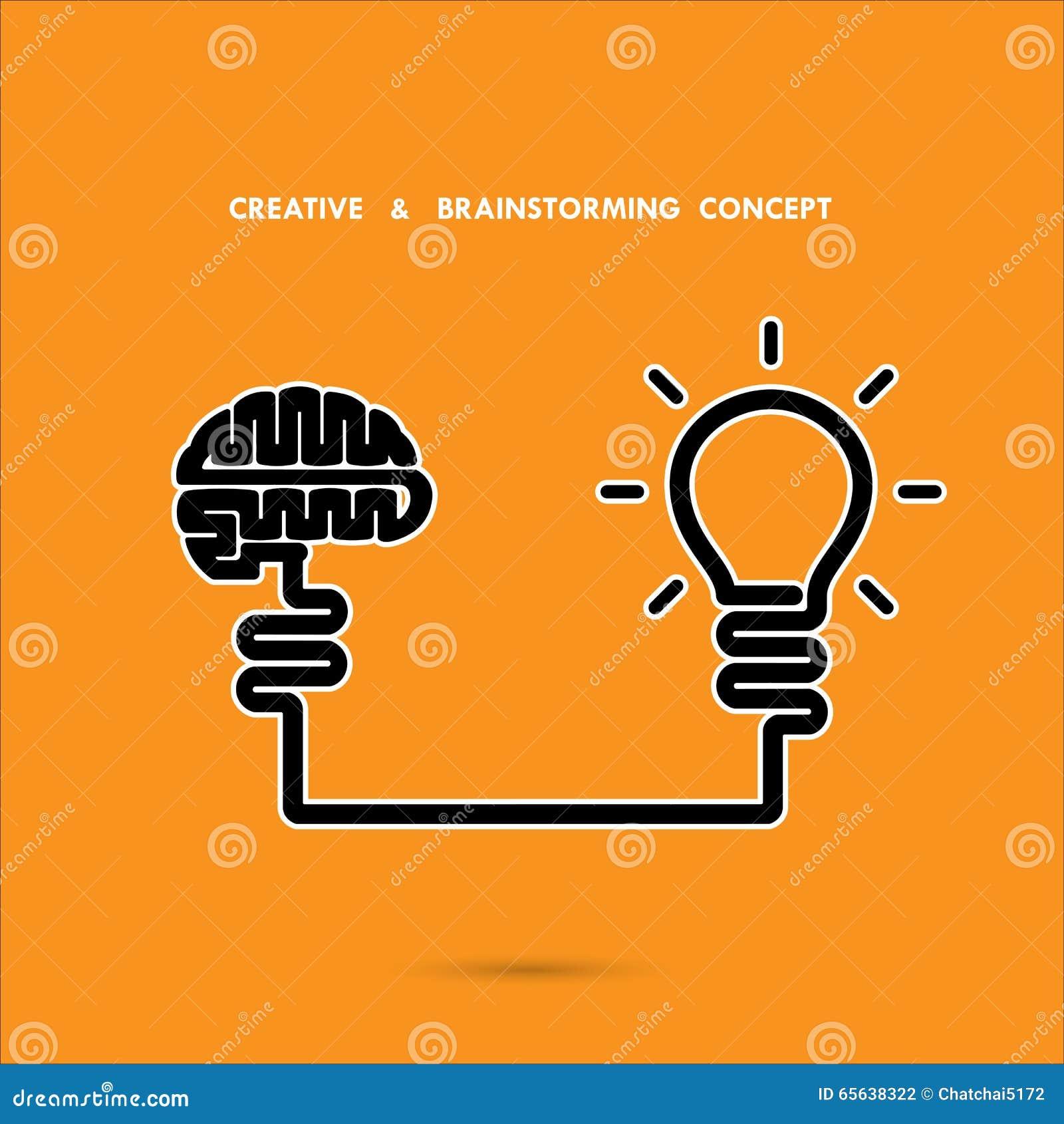 Concept d échange d idées, affaires et idée créatifs d éducation, innova