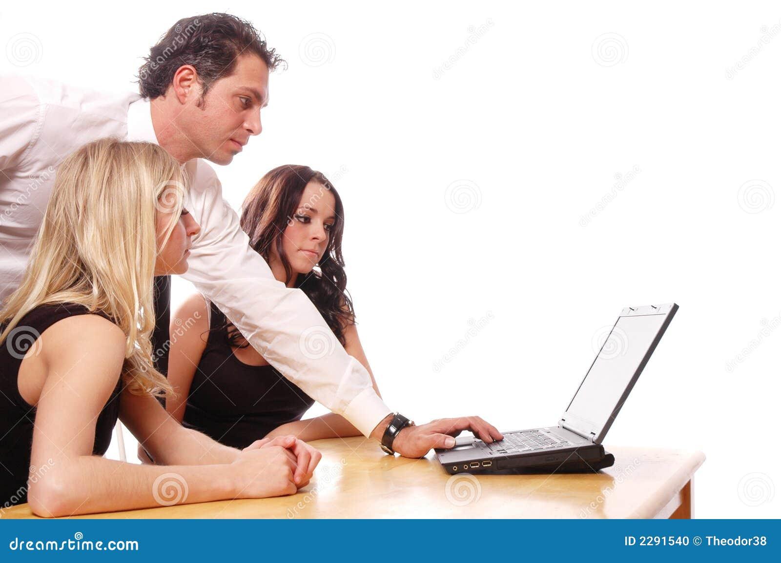 Concept d équipe d affaires