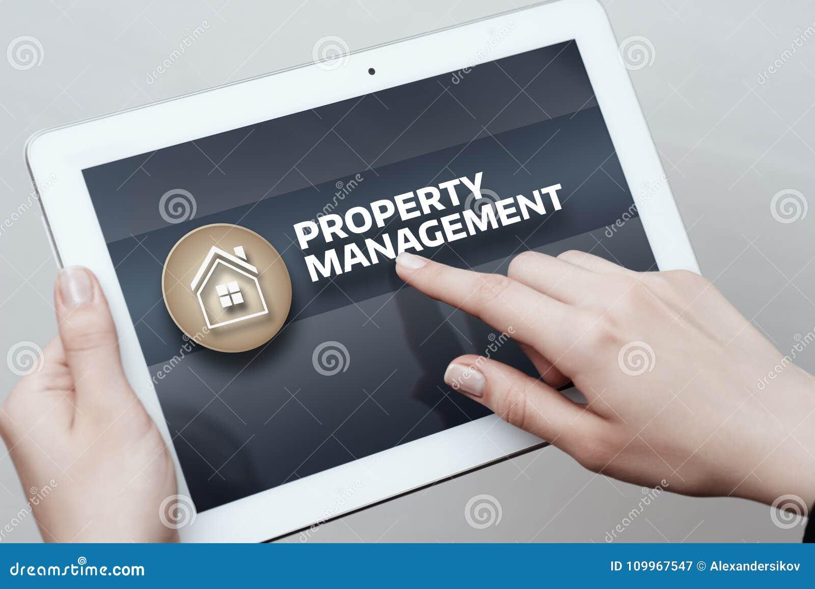 Concept d achat de loyer d hypothèque immobilière de gestion de propriété