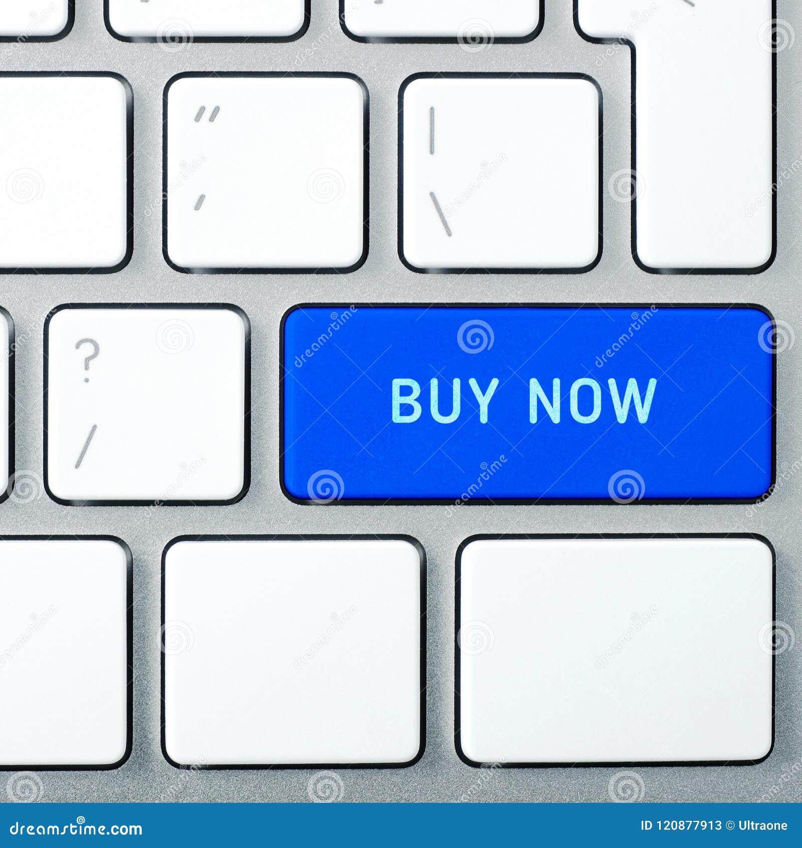 Concept d acheter maintenant