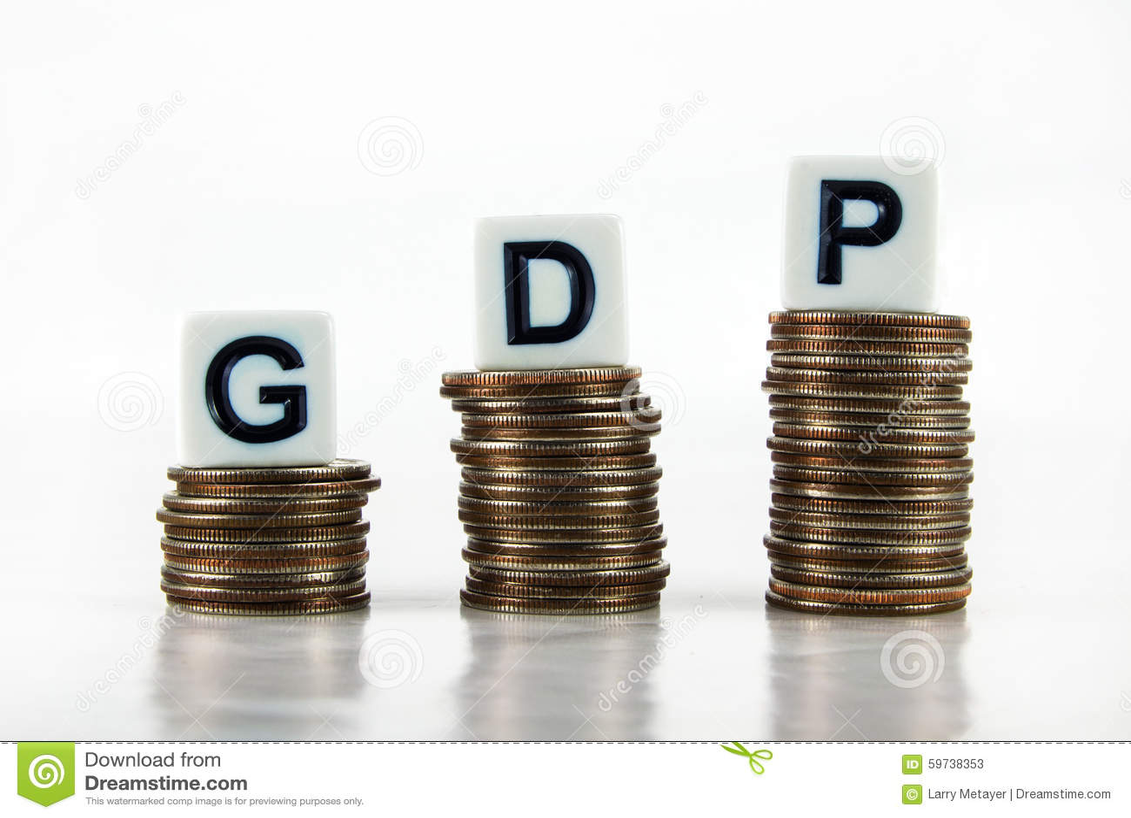 Concept d affaires d †de PIB (produit intérieur brut) «