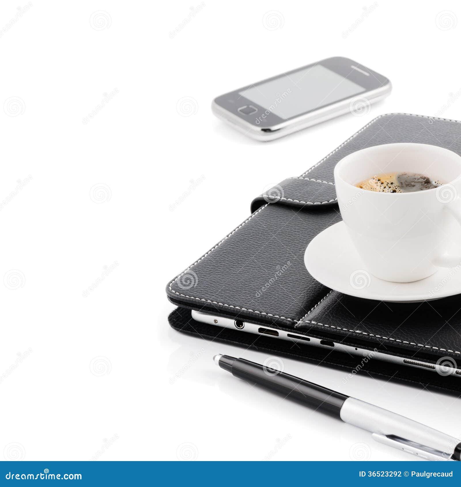 Concept d affaires. Tasse de café de matin