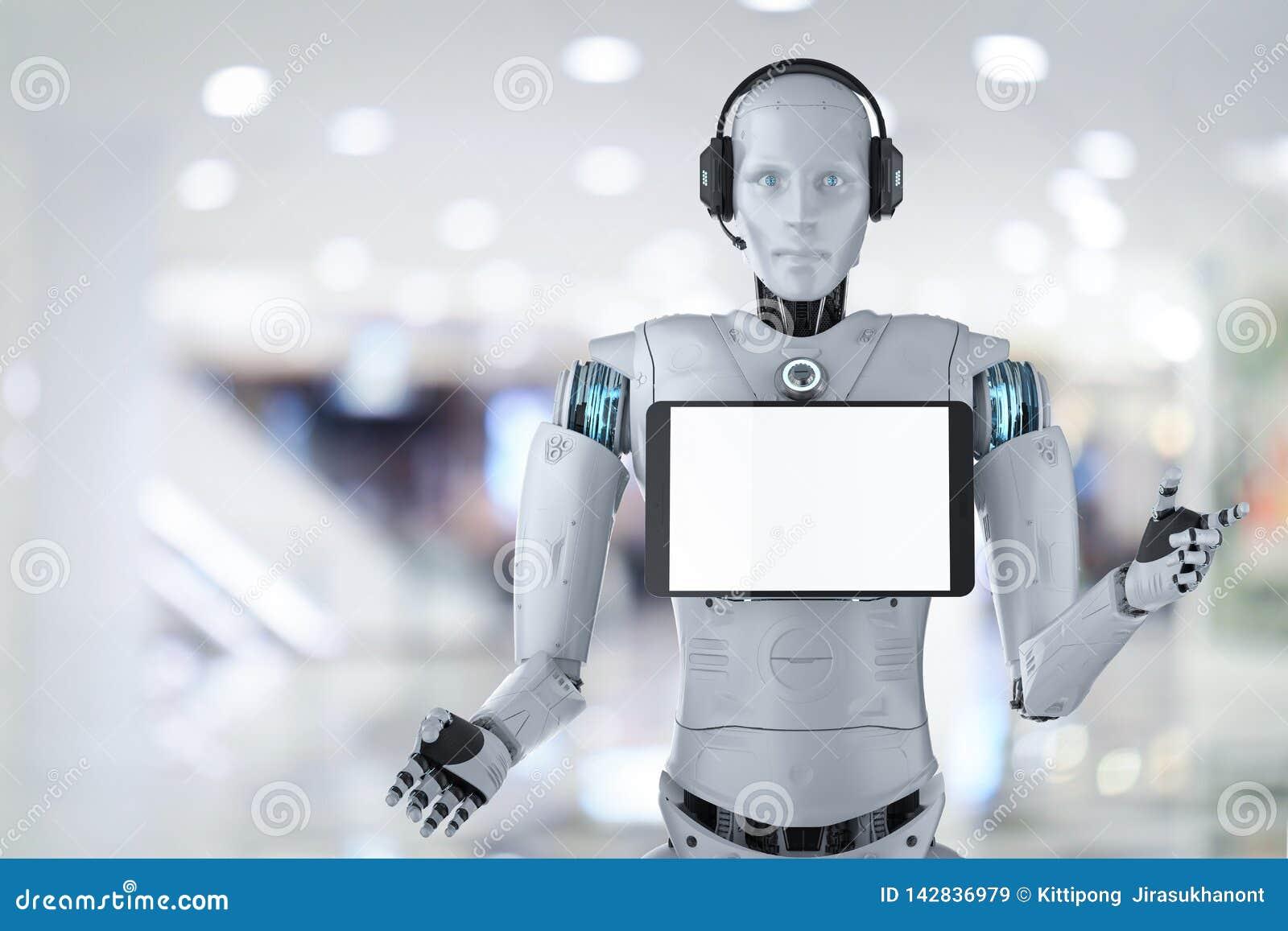 Concept d assistant de robot
