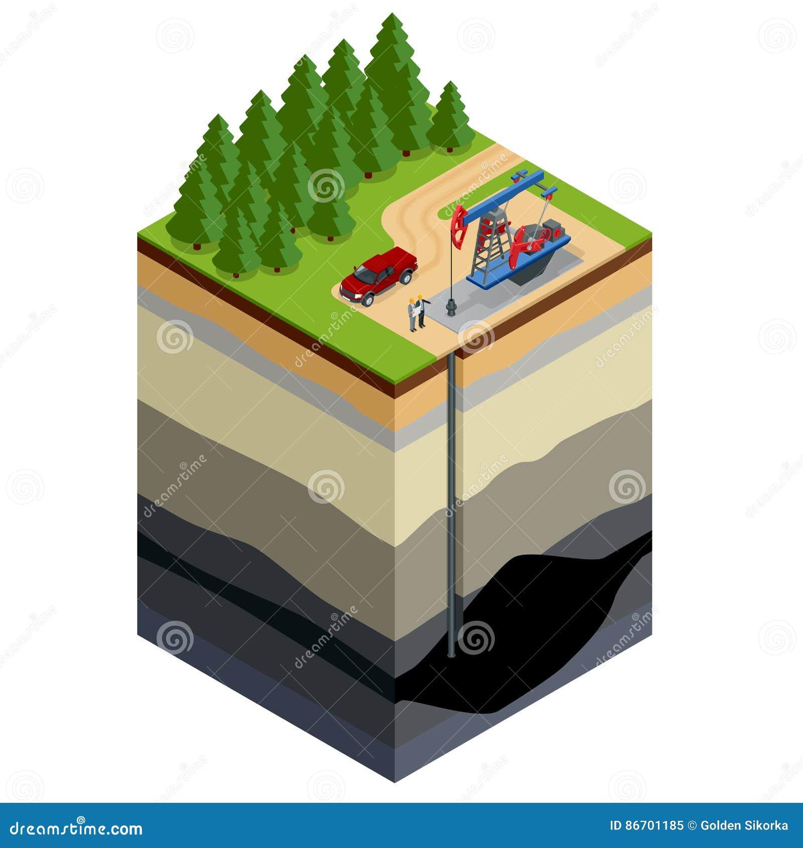 Concept d exploration de forage de pétrole Machinez l écriture sur le papier devant les tuyaux de gaz naturel Raffinerie, gas et