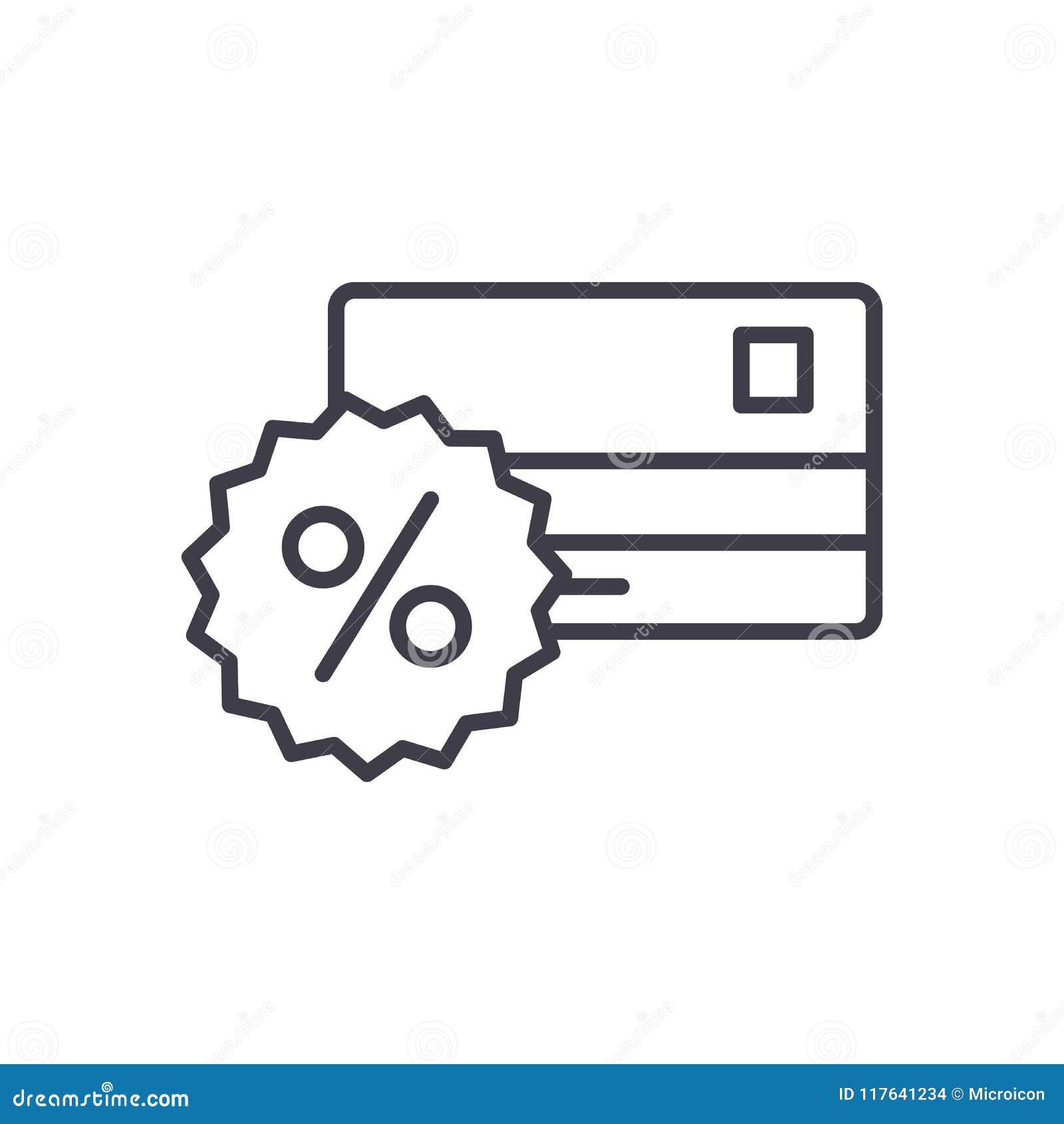 Concept d icône de noir de commission de banque Encaissez le symbole plat de vecteur de commission, signe, illustration