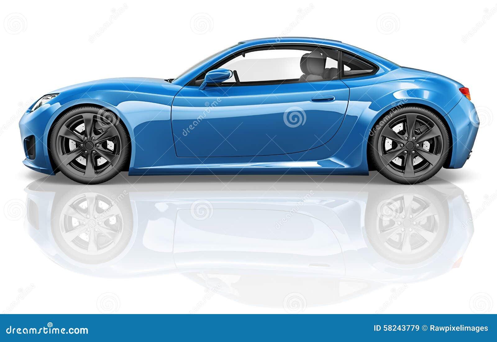 concept d 39 illustration de transport de v hicule de voiture de sport 3d illustration stock. Black Bedroom Furniture Sets. Home Design Ideas