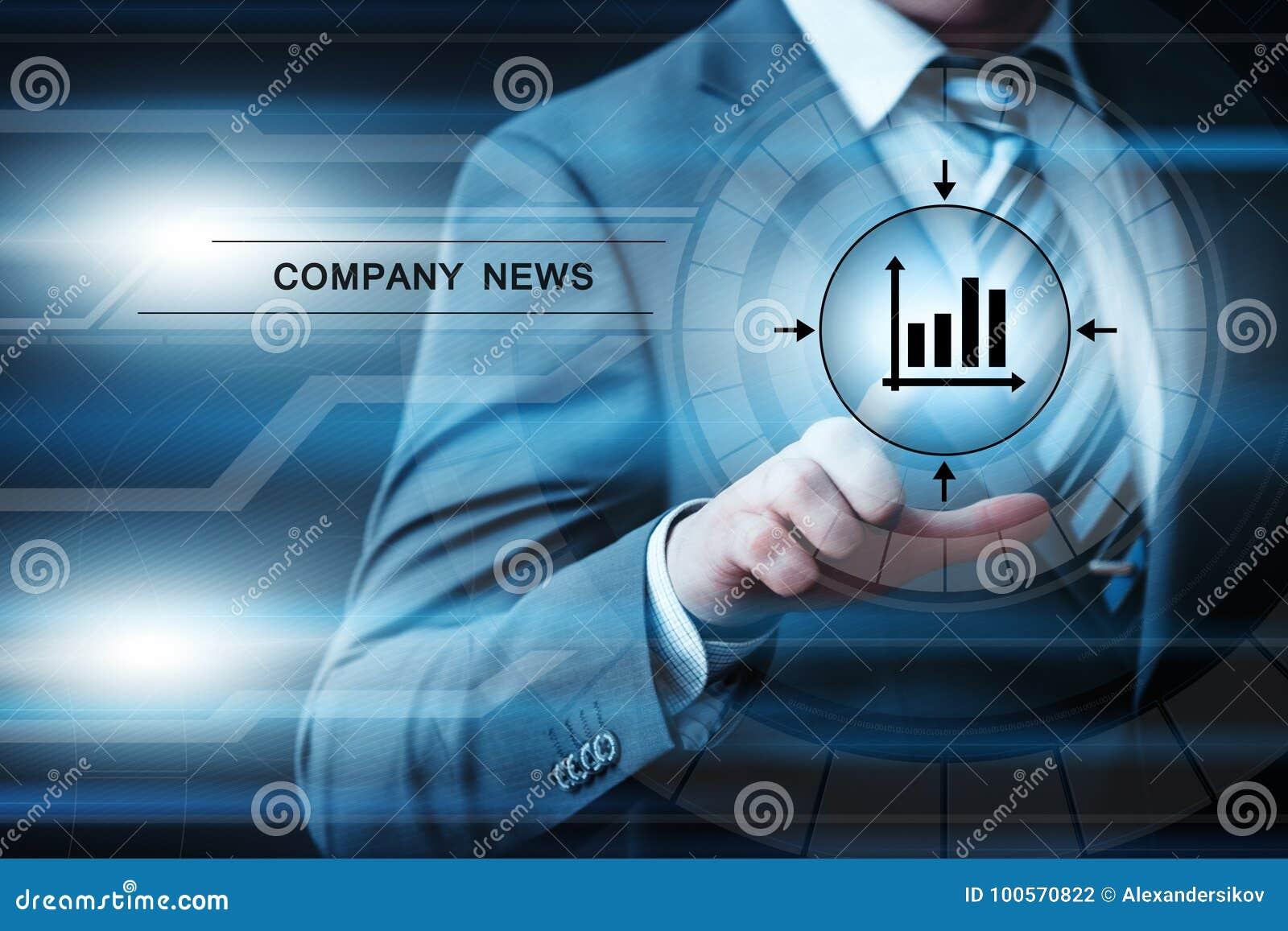 Concept d Internet de technologie d affaires de bulletin d information d actualités de société