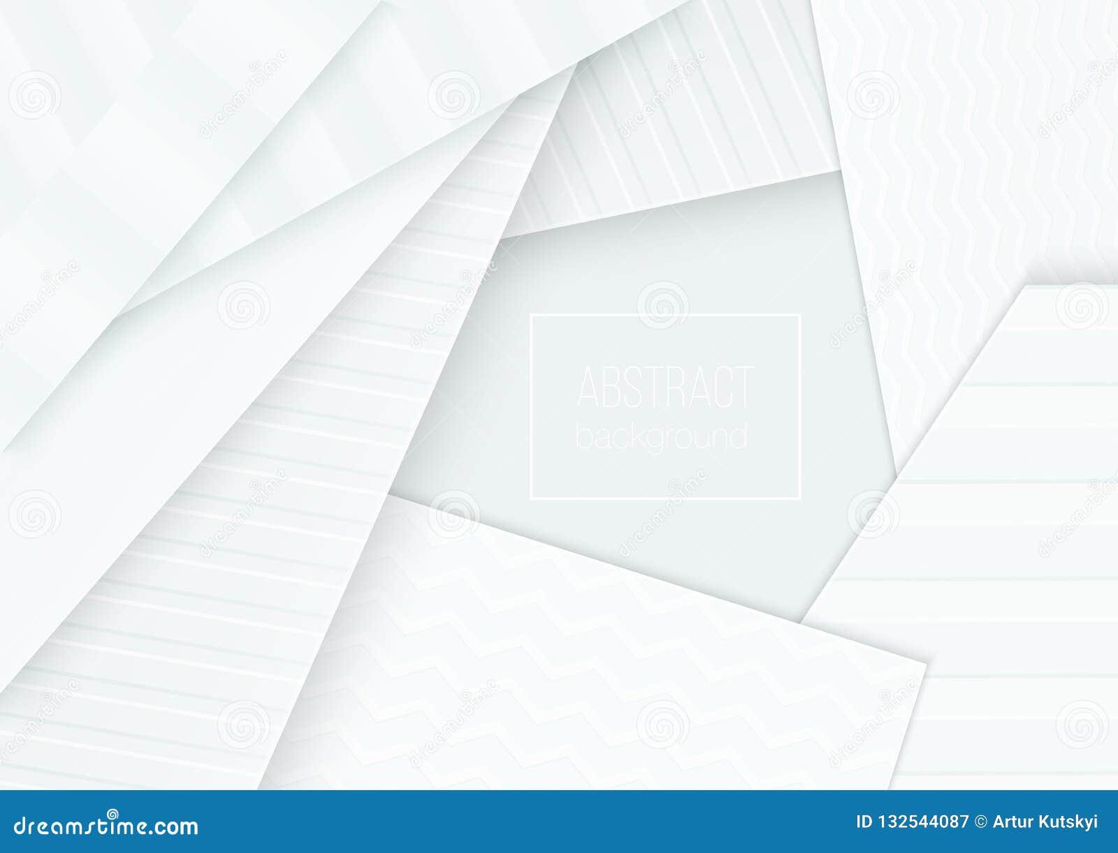 Concept de bannière de coupe de papier Le papier a courbé le fond abstrait pour la conception d insecte de brochure d affiche de