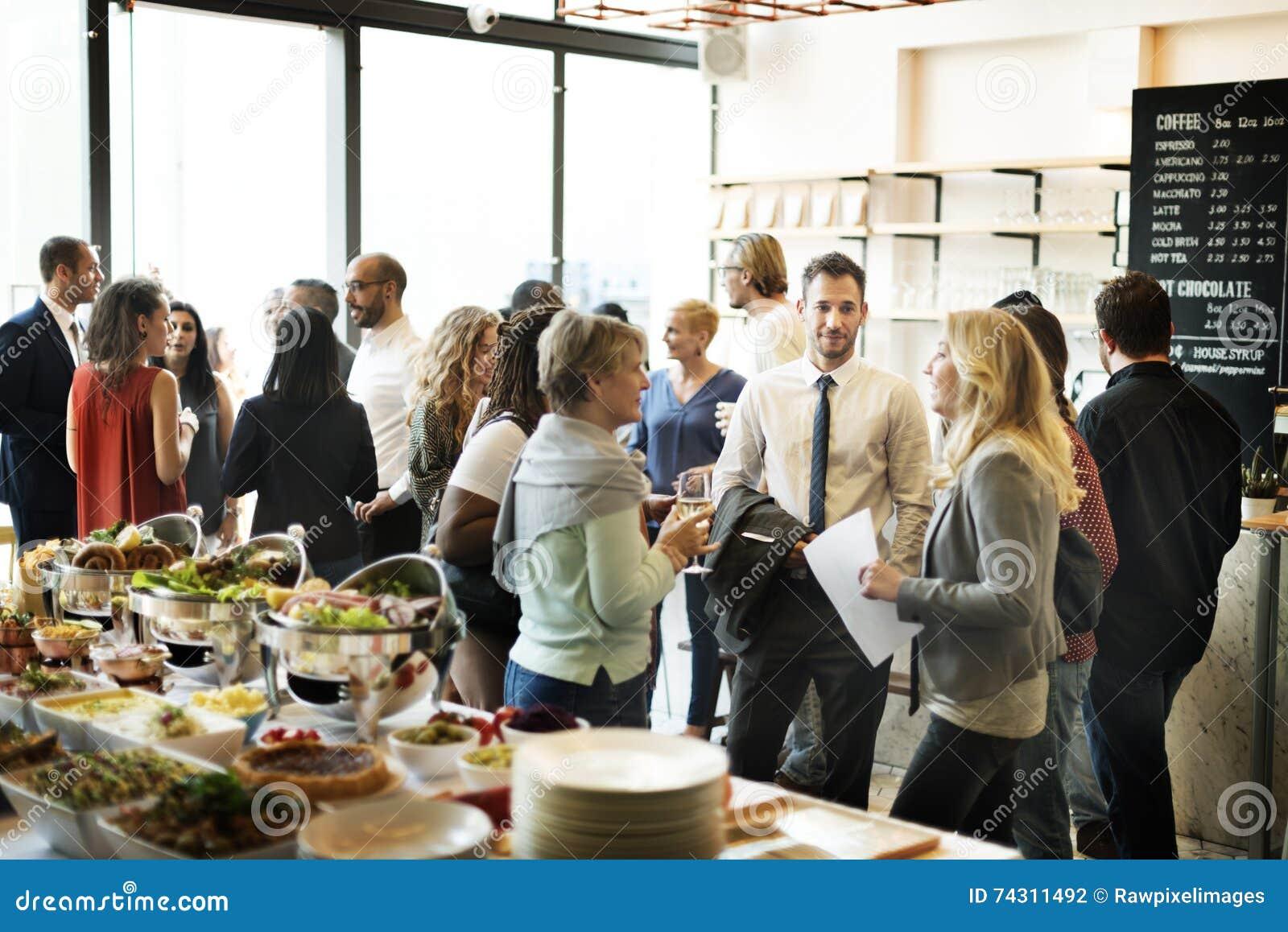 Concept de bonheur d acclamations de consommation de réunion d affaires
