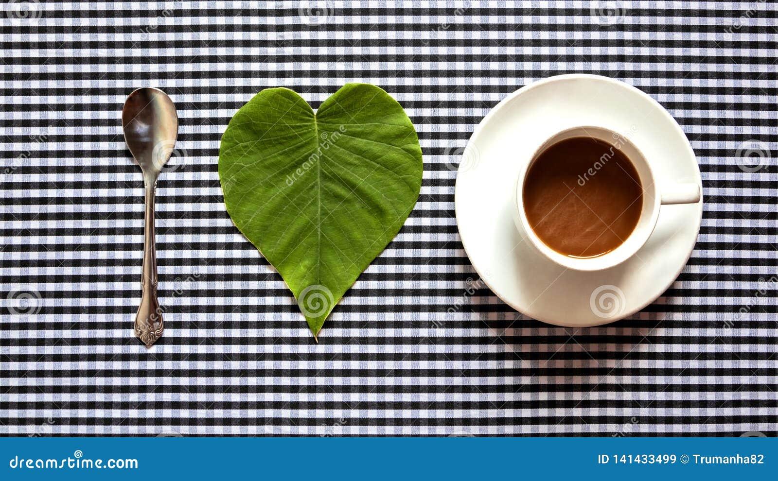 Concept de café d amour d I