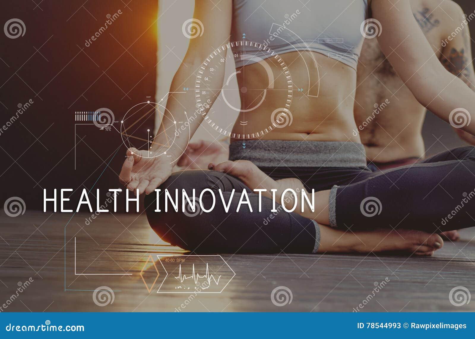 Concept de cheminement de technologie de soins de santé de forme physique de santé