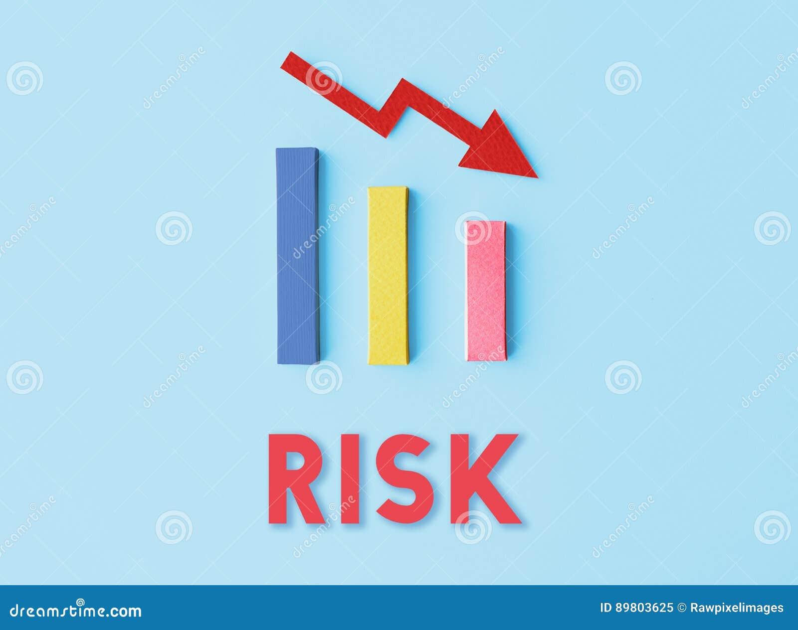 Concept de chute de difficulté de risque de dette