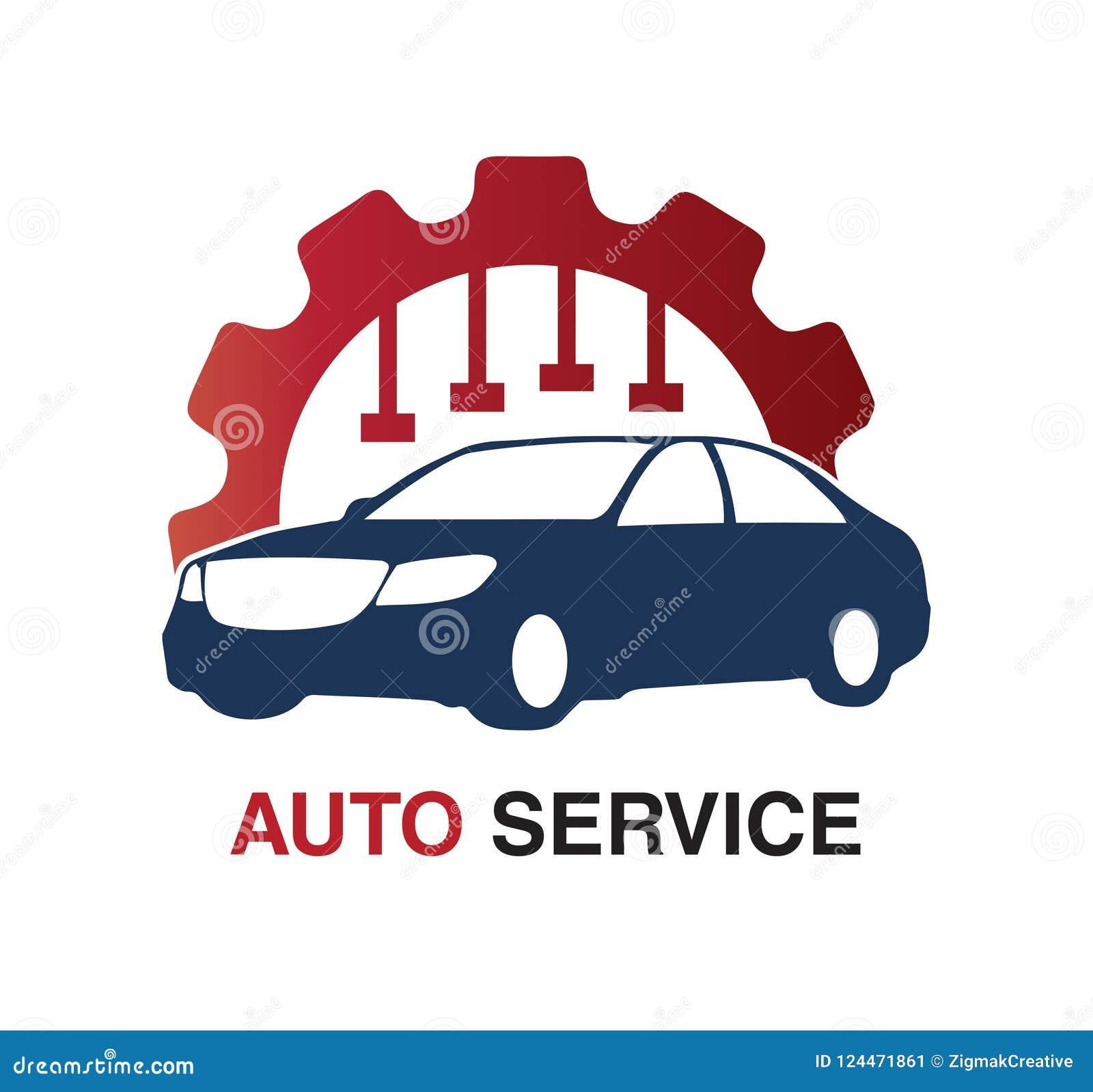 Concept de construction automatique de logo de service