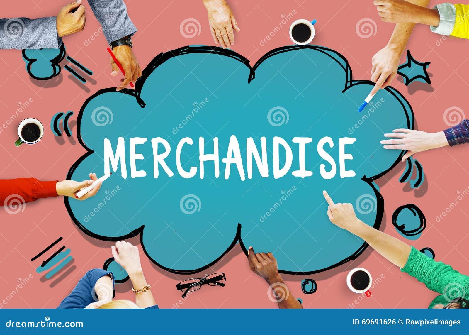 Concept de ConsumerSell de marketing de produit de marchandises