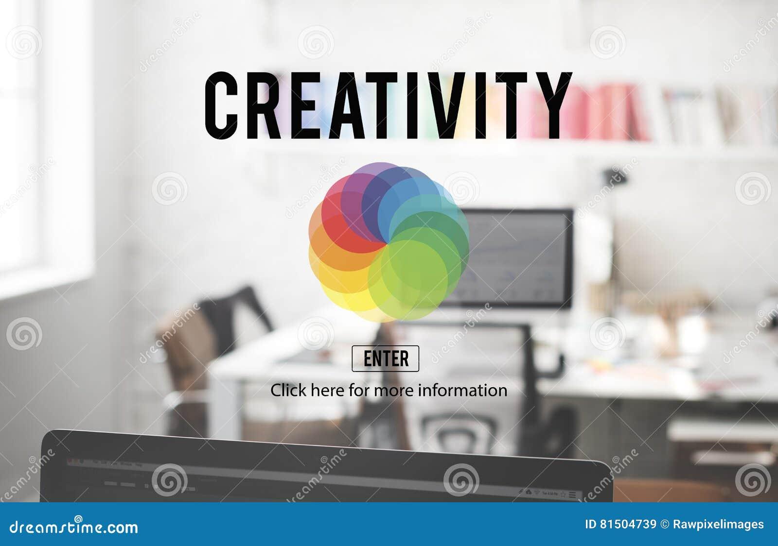 Concept de créativité de Colorscheme de couleur de CMYK RVB