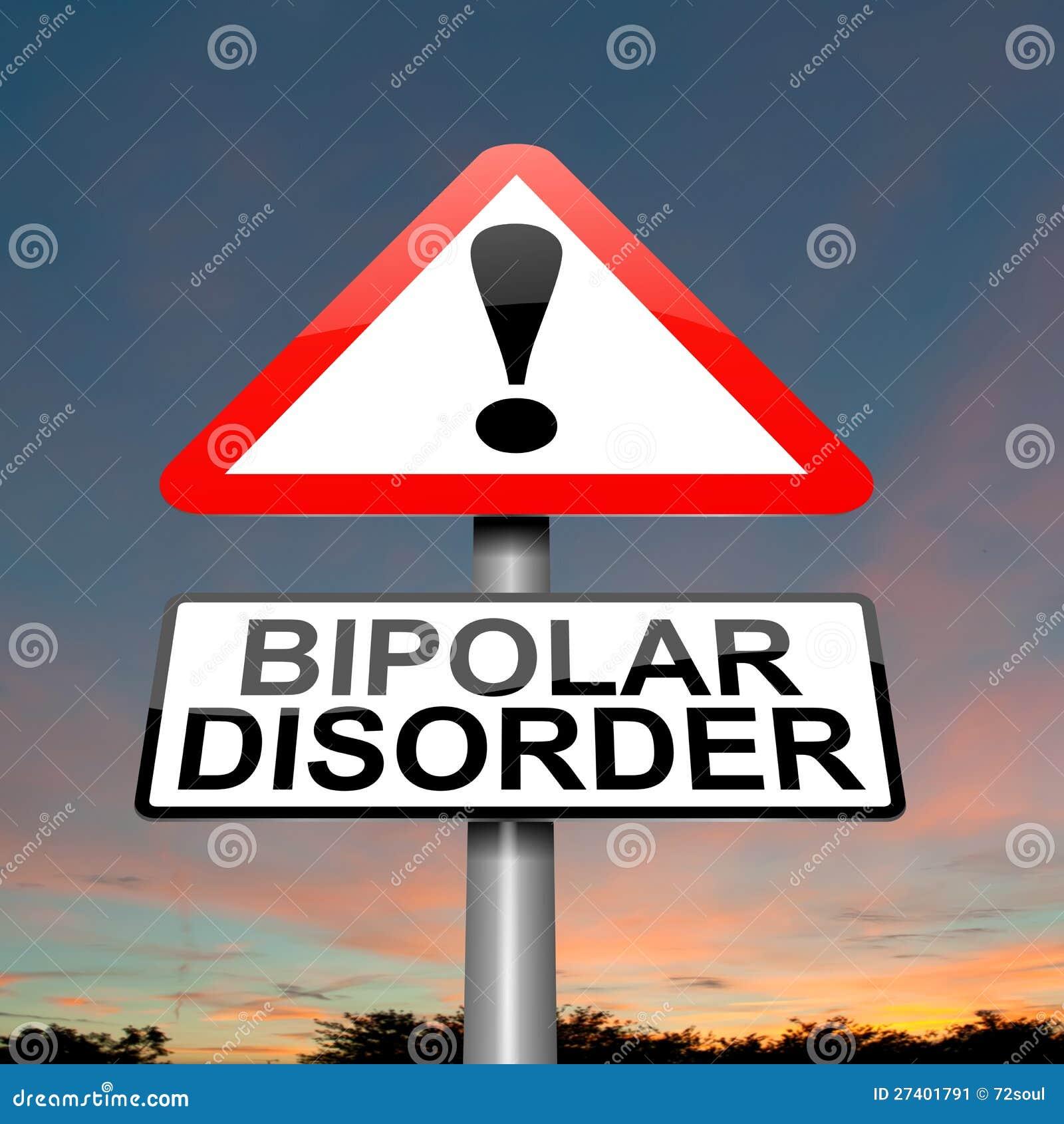Concept de désordre bipolaire.