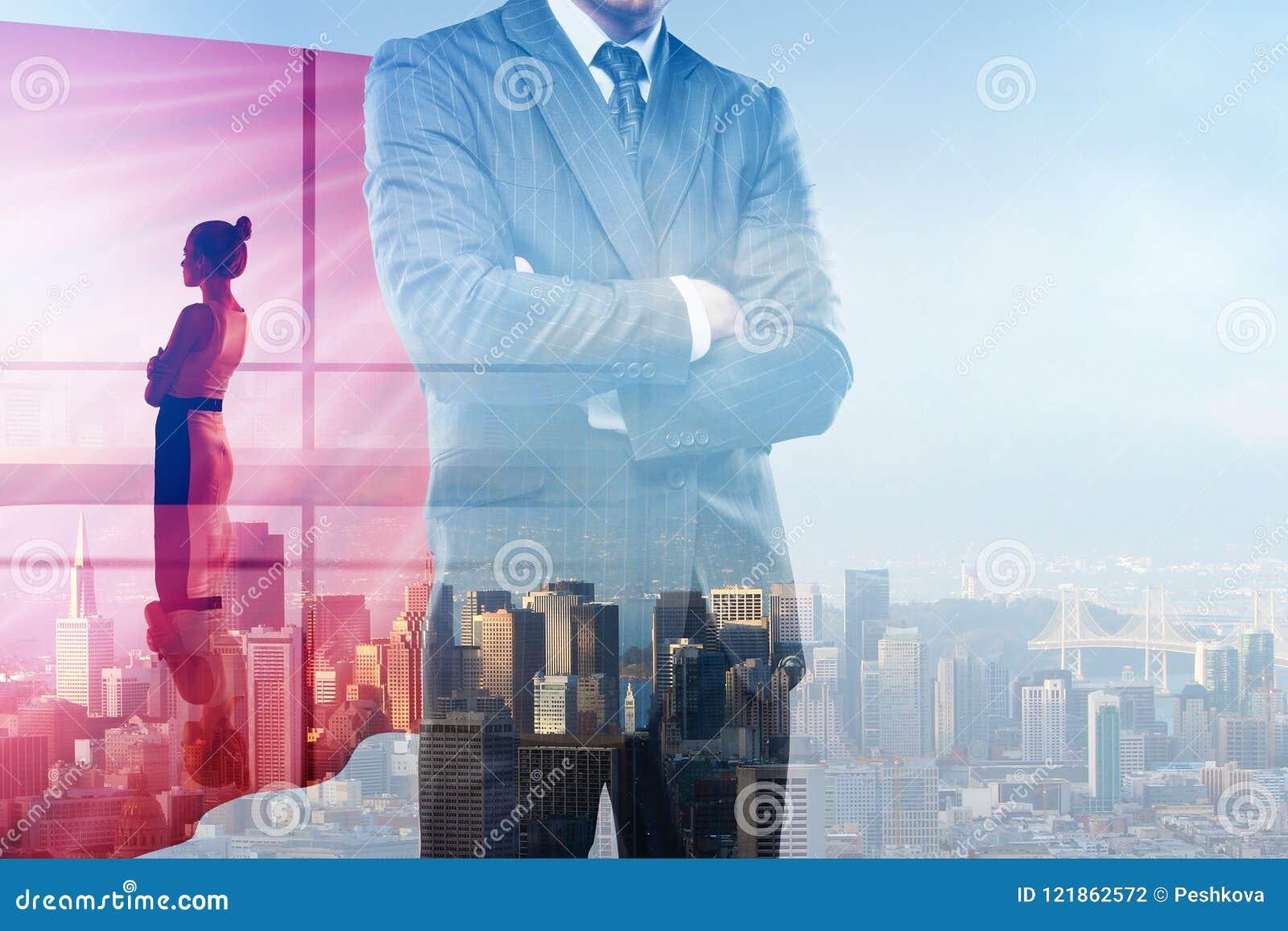 Concept de direction et de travail