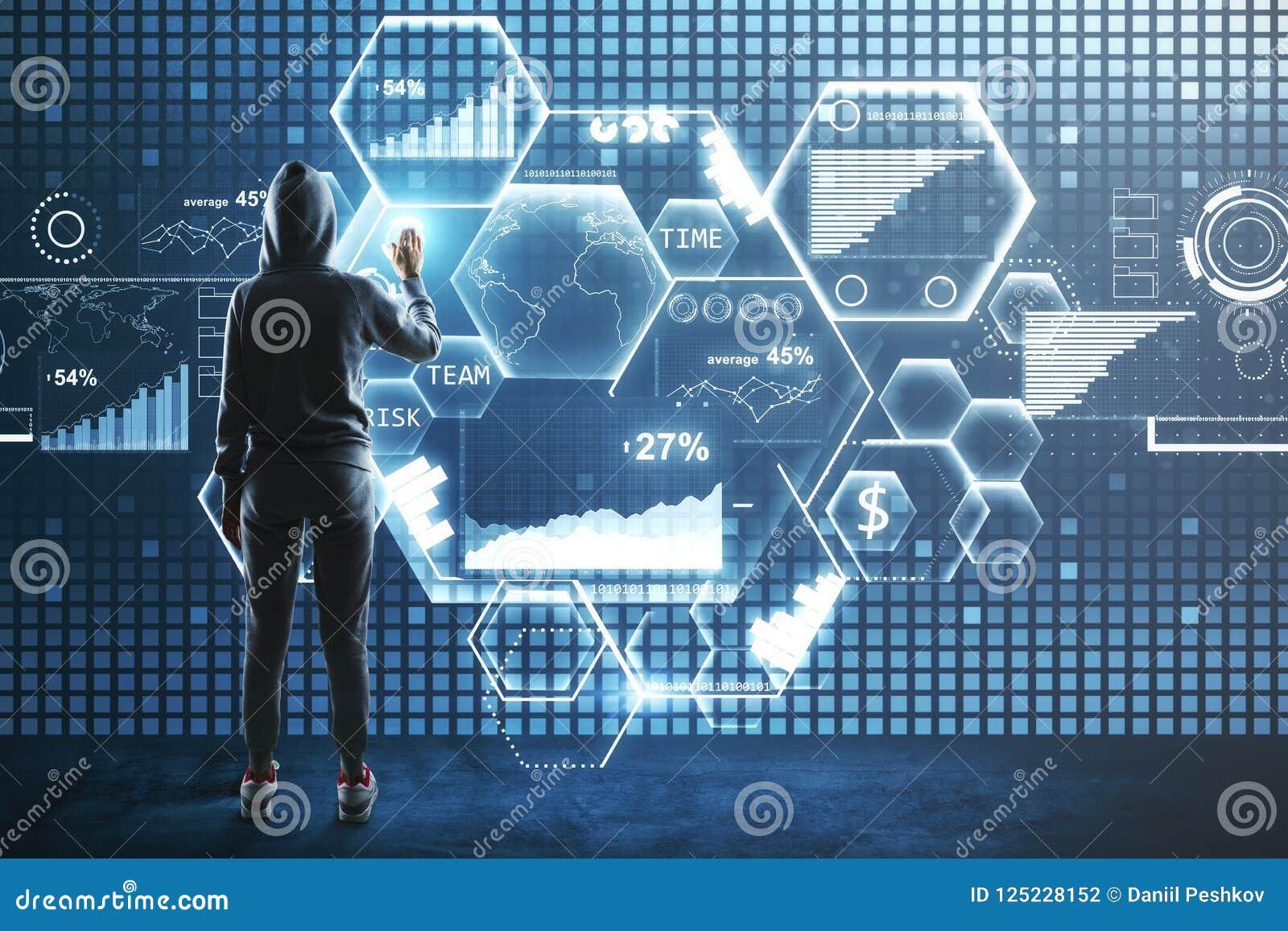 Concept de entailler et de données