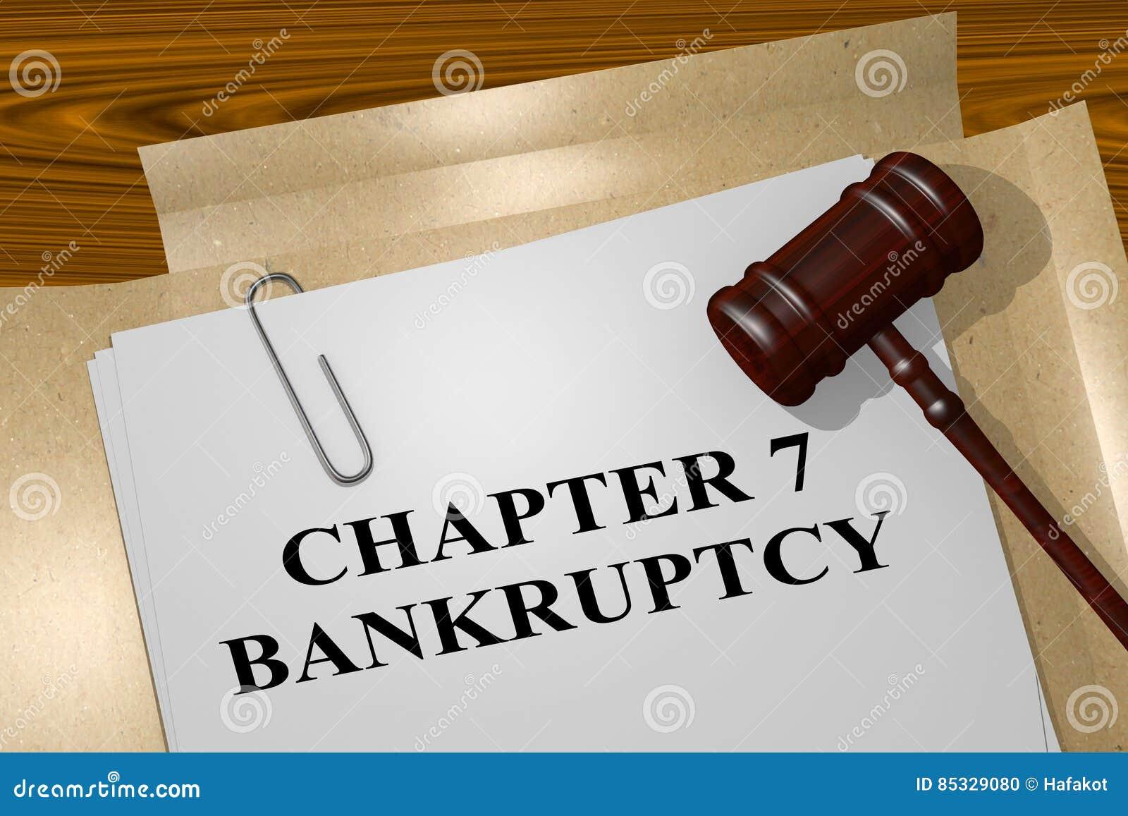 Concept de faillite du chapitre 7