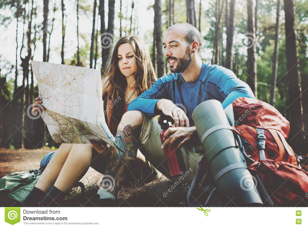 Concept de Forest Adventure Travel Remote Relax de camp