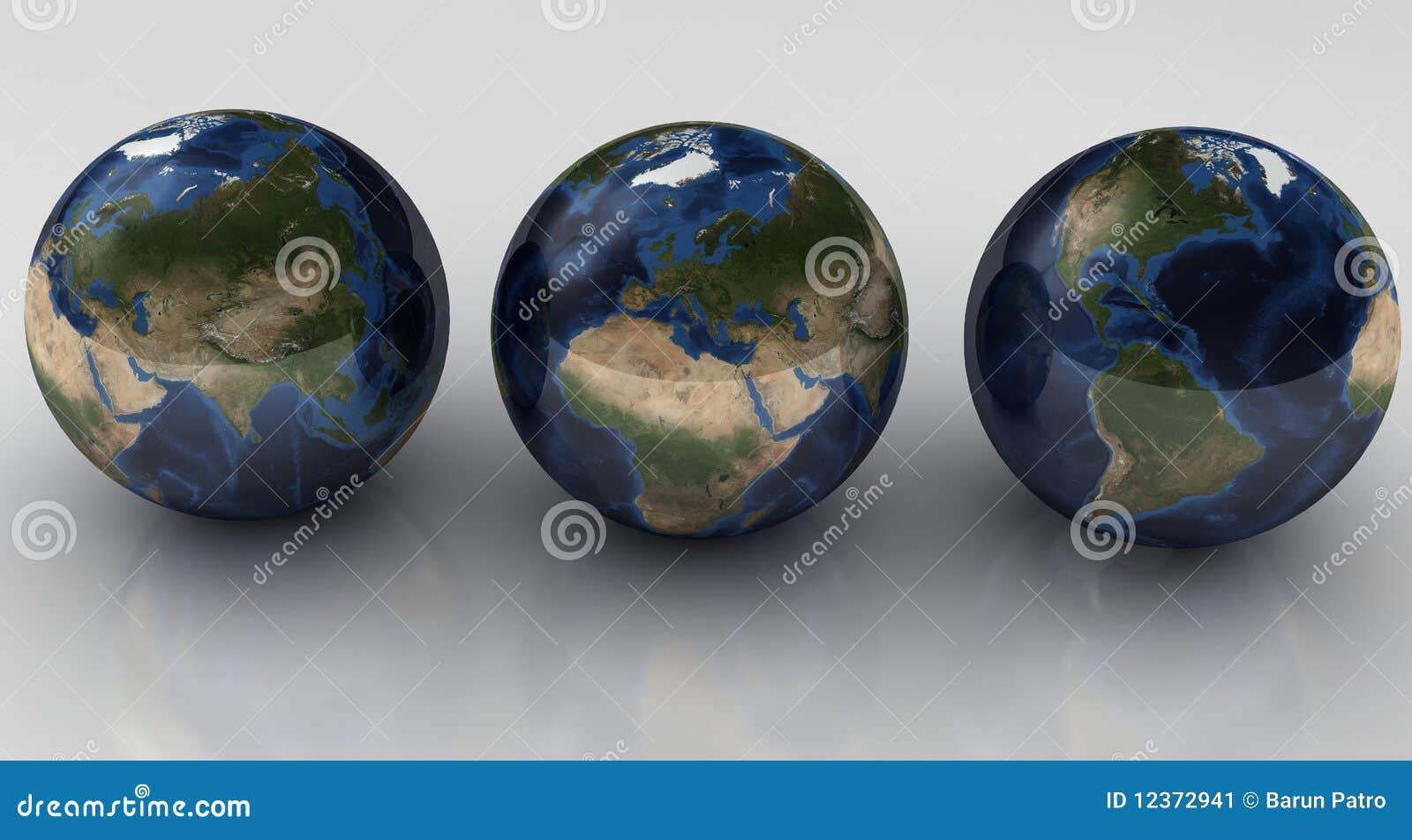 Concept de globes