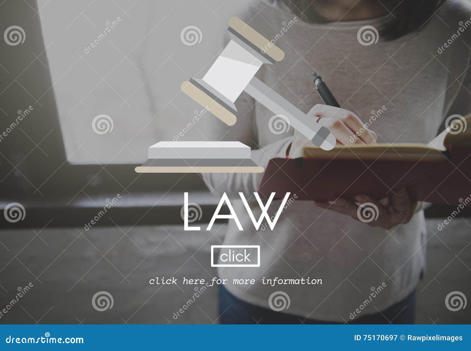 Concept de Governance Legal Judge d avocat de loi