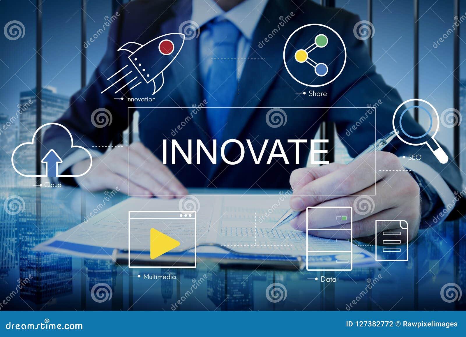 Concept de graphique d icônes de technologie numérique