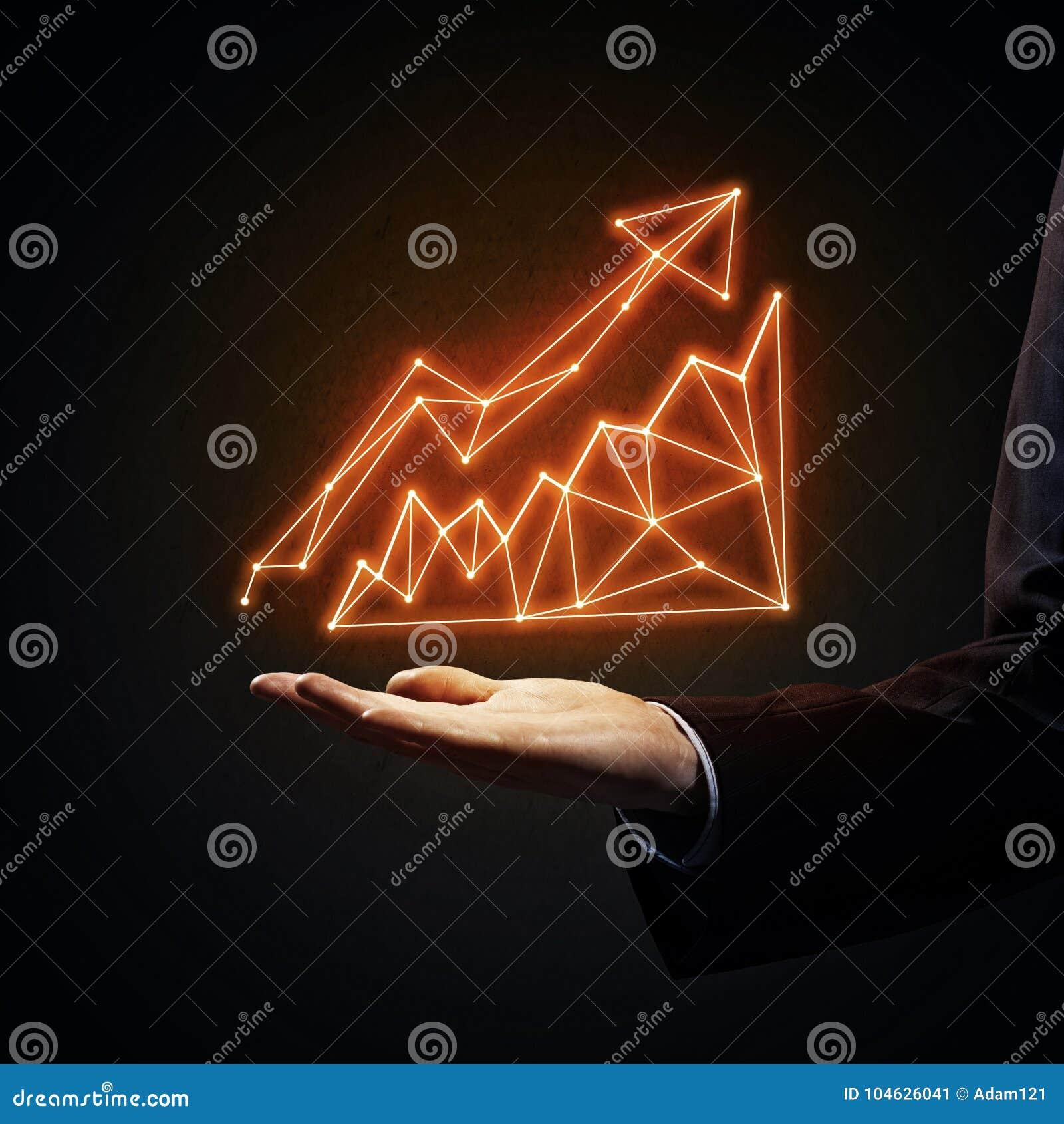 Download Concept De Groei En Vooruitgang Stock Afbeelding - Afbeelding bestaande uit hand, geef: 104626041