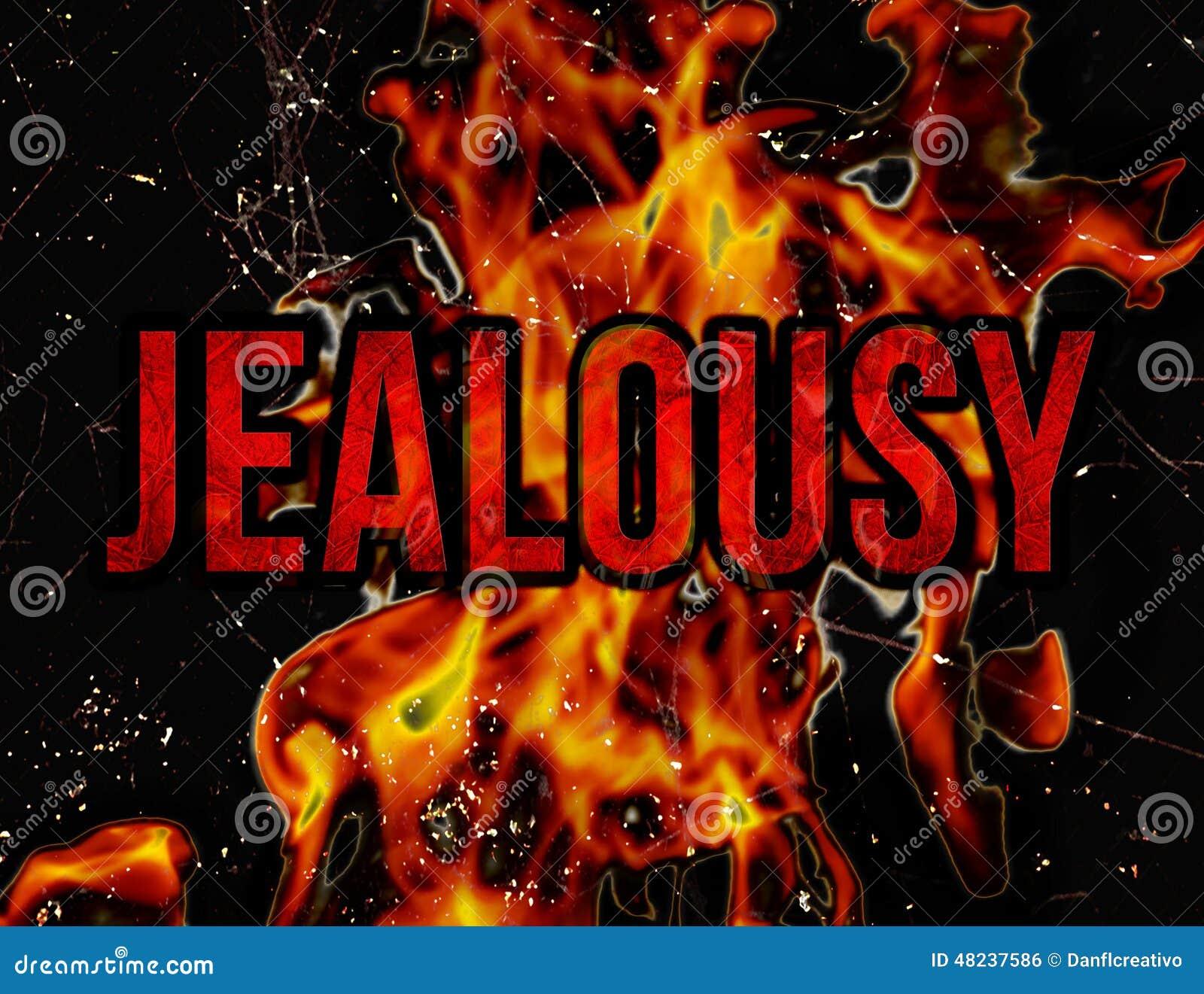 Concept de jalousie